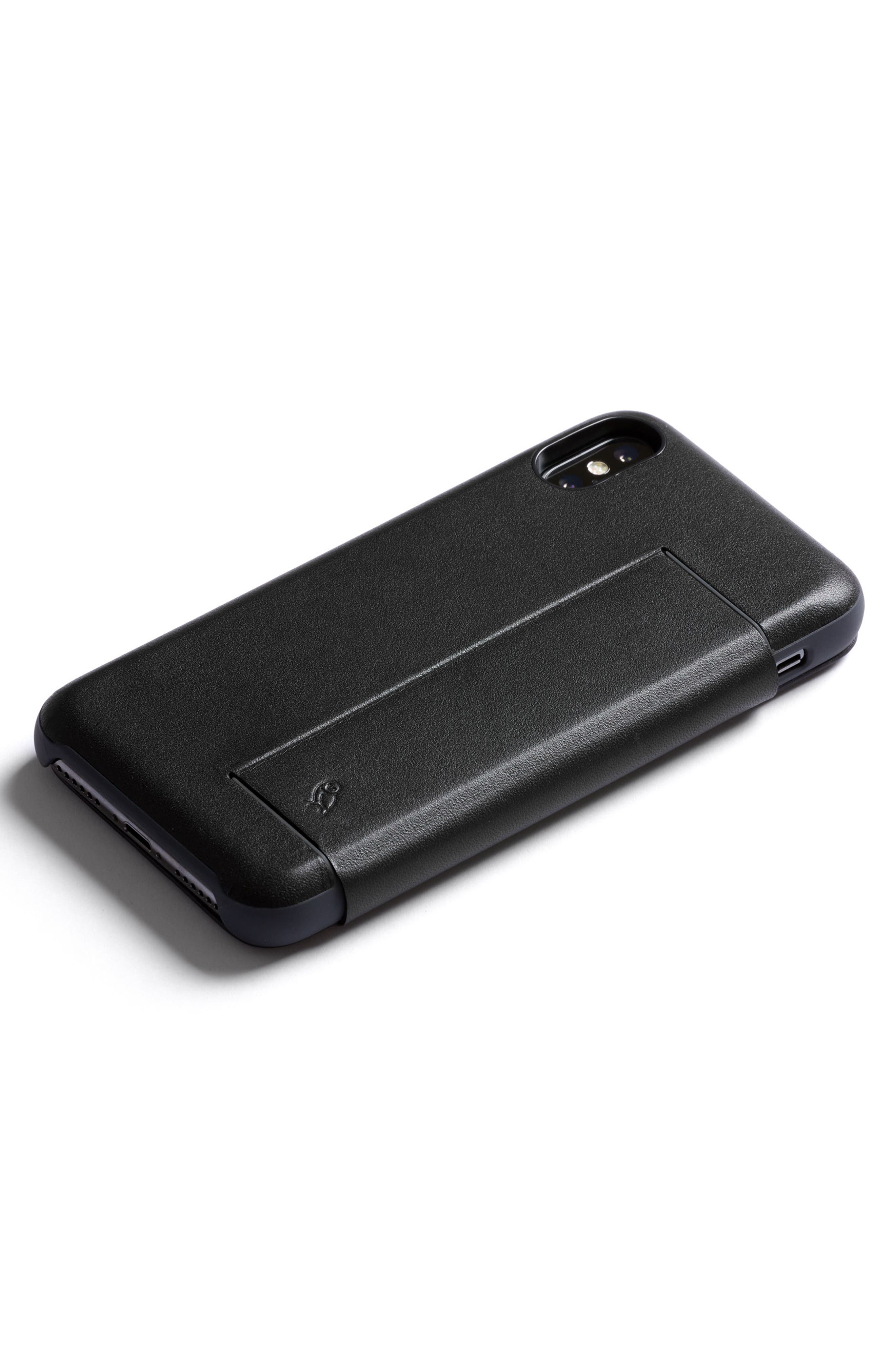 iPhone X Phone Wallet,                         Main,                         color, Black
