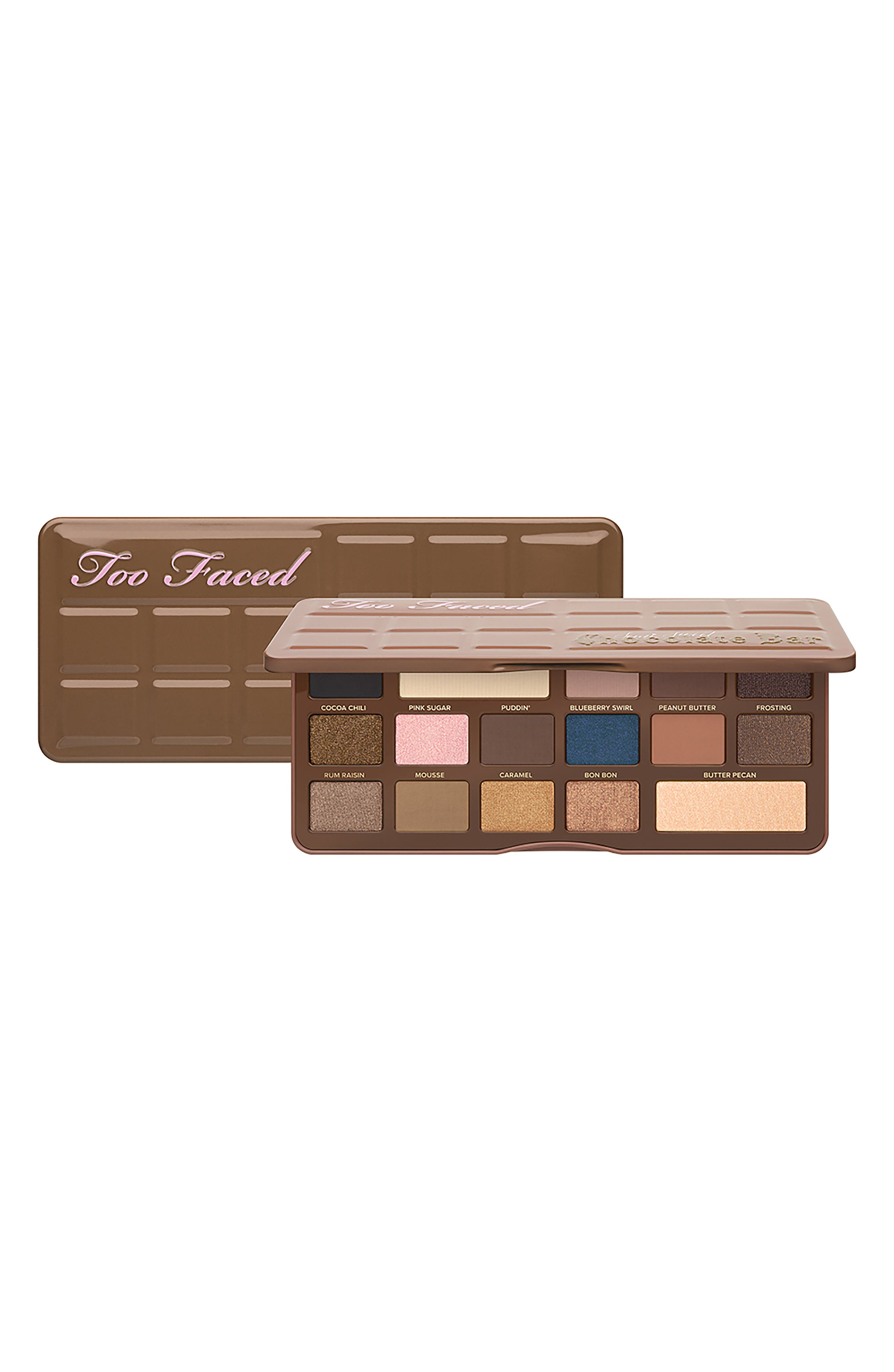 Semi-Sweet Chocolate Bar Eyeshadow Palette,                             Alternate thumbnail 5, color,                             No Color