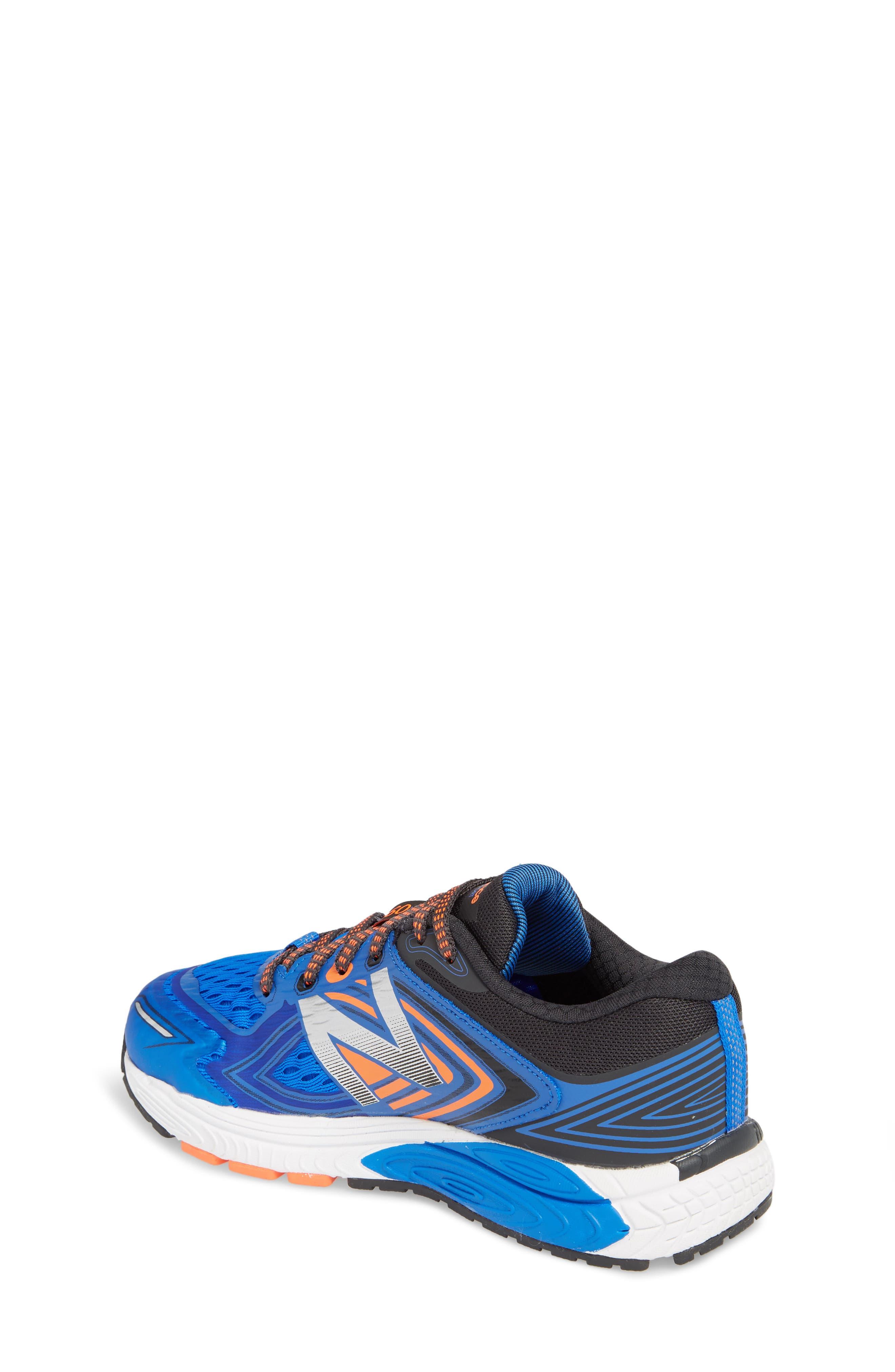 860v8 Sneaker,                             Alternate thumbnail 2, color,                             Navy/ Grey