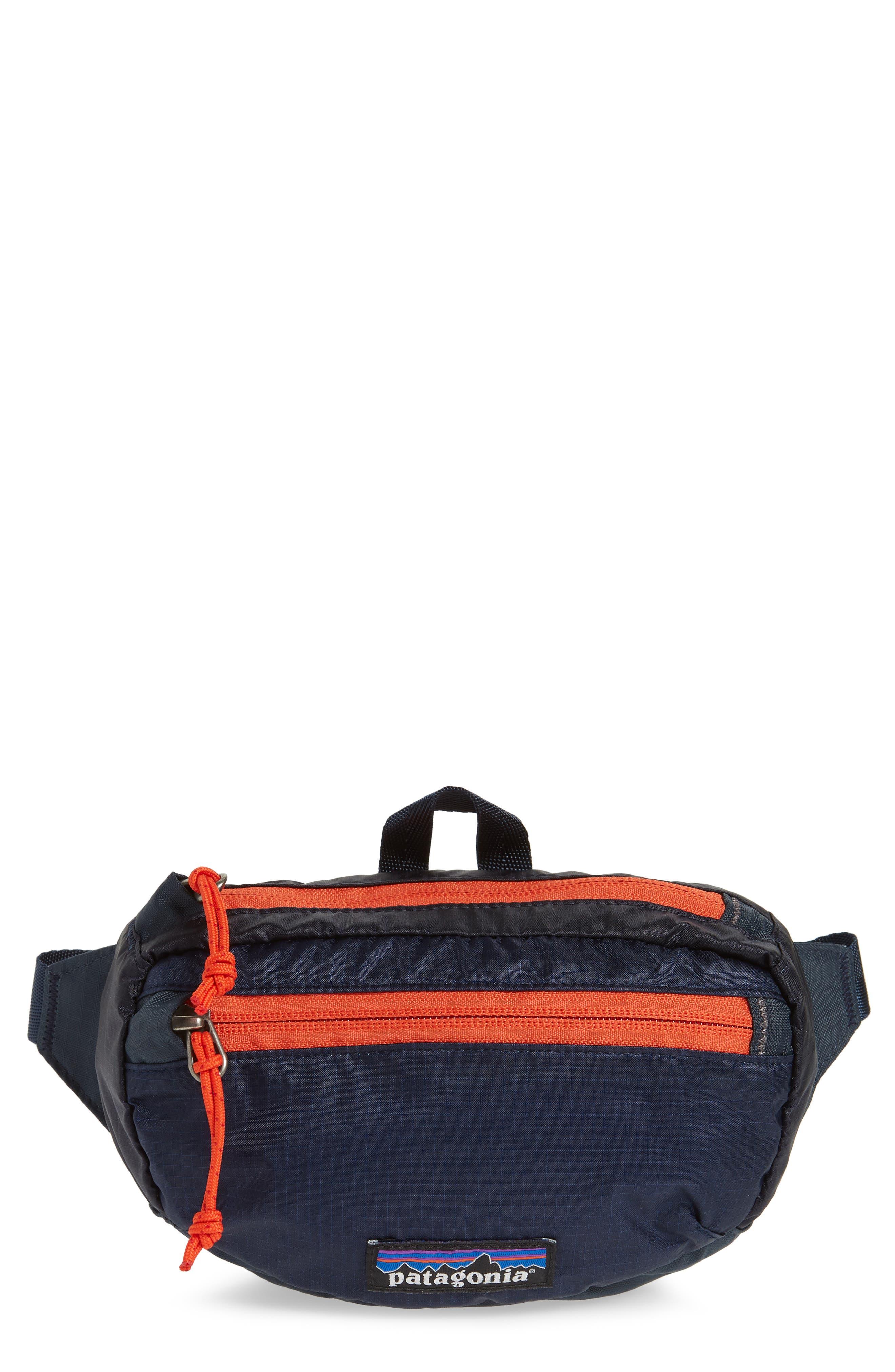 Travel Belt Bag,                         Main,                         color, Smolder Blue