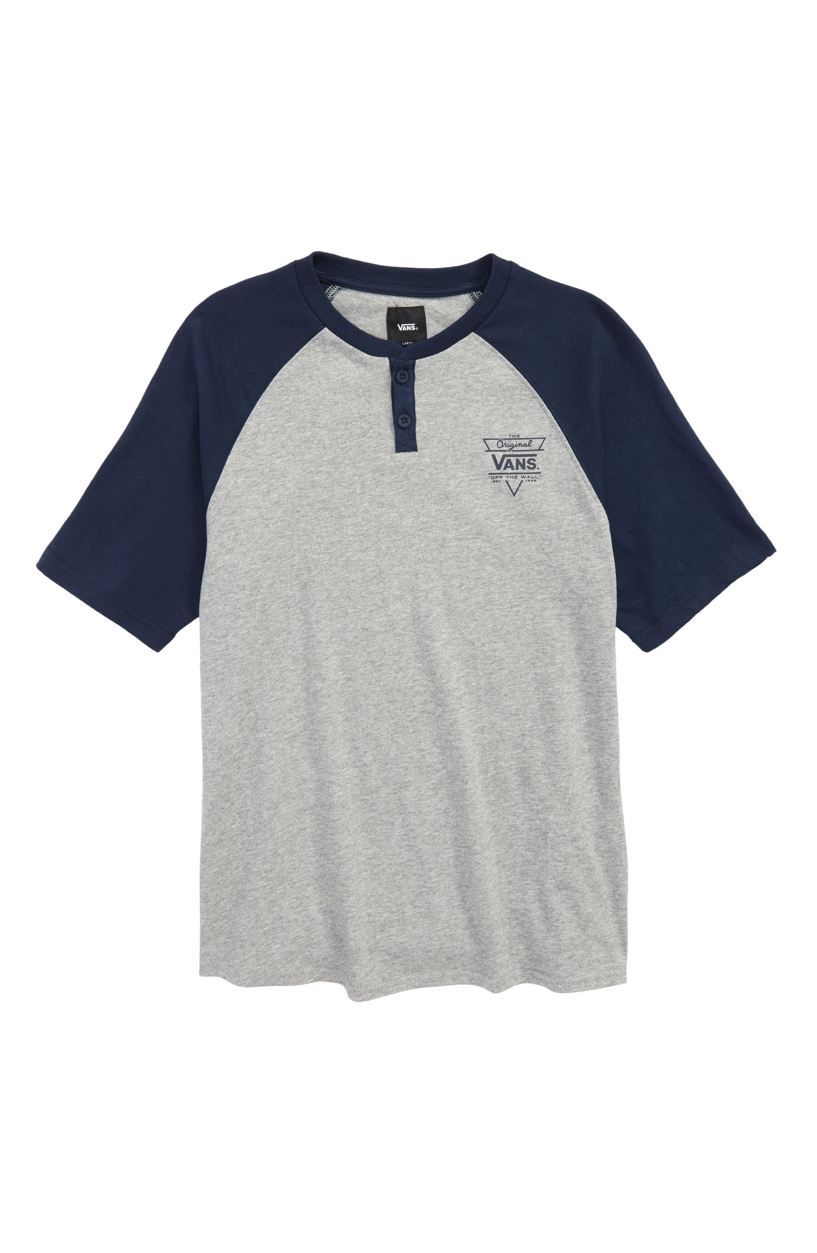 Hitson III Raglan Shirt,                             Main thumbnail 1, color,                             Cement Heather