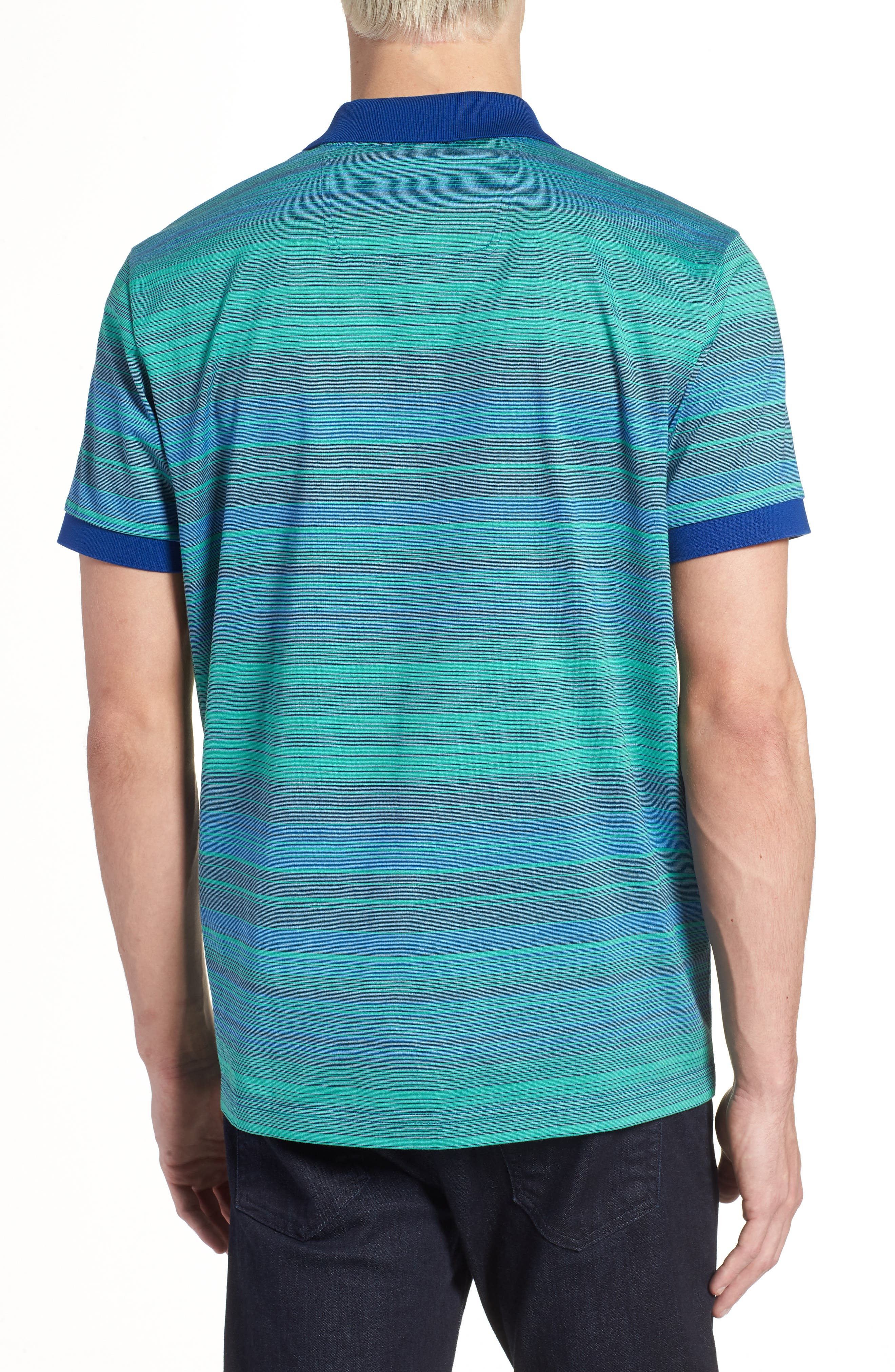 Paddy 3 Regular Fit Polo,                             Alternate thumbnail 2, color,                             Blue