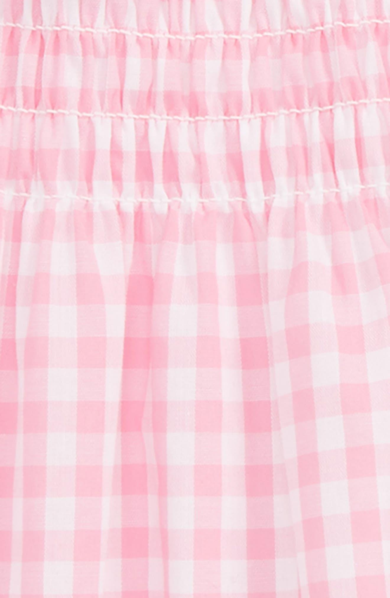 Gingham Gingham Dress,                             Alternate thumbnail 2, color,                             Pink
