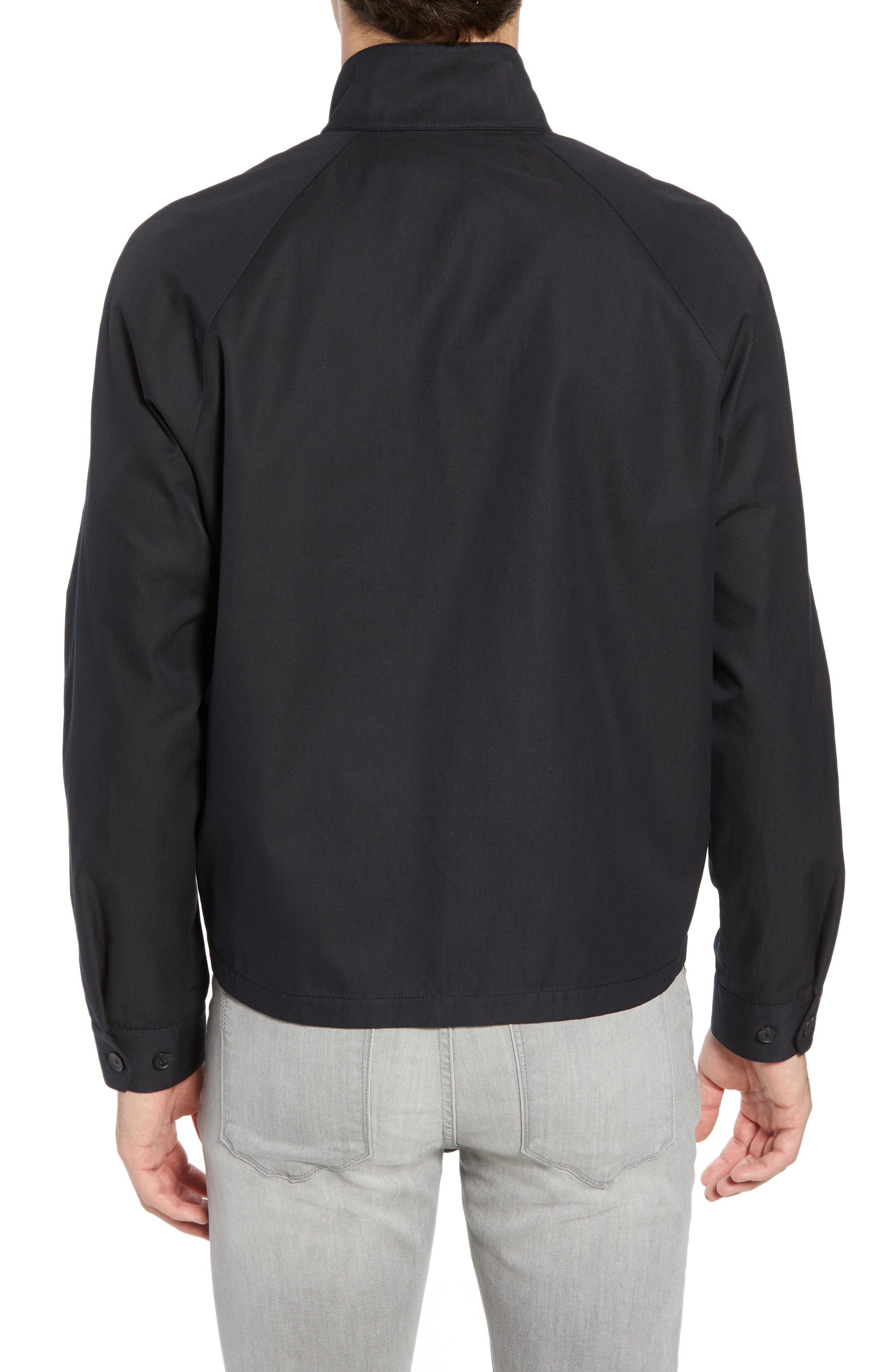 Regular Fit Jacket,                             Alternate thumbnail 2, color,                             Black