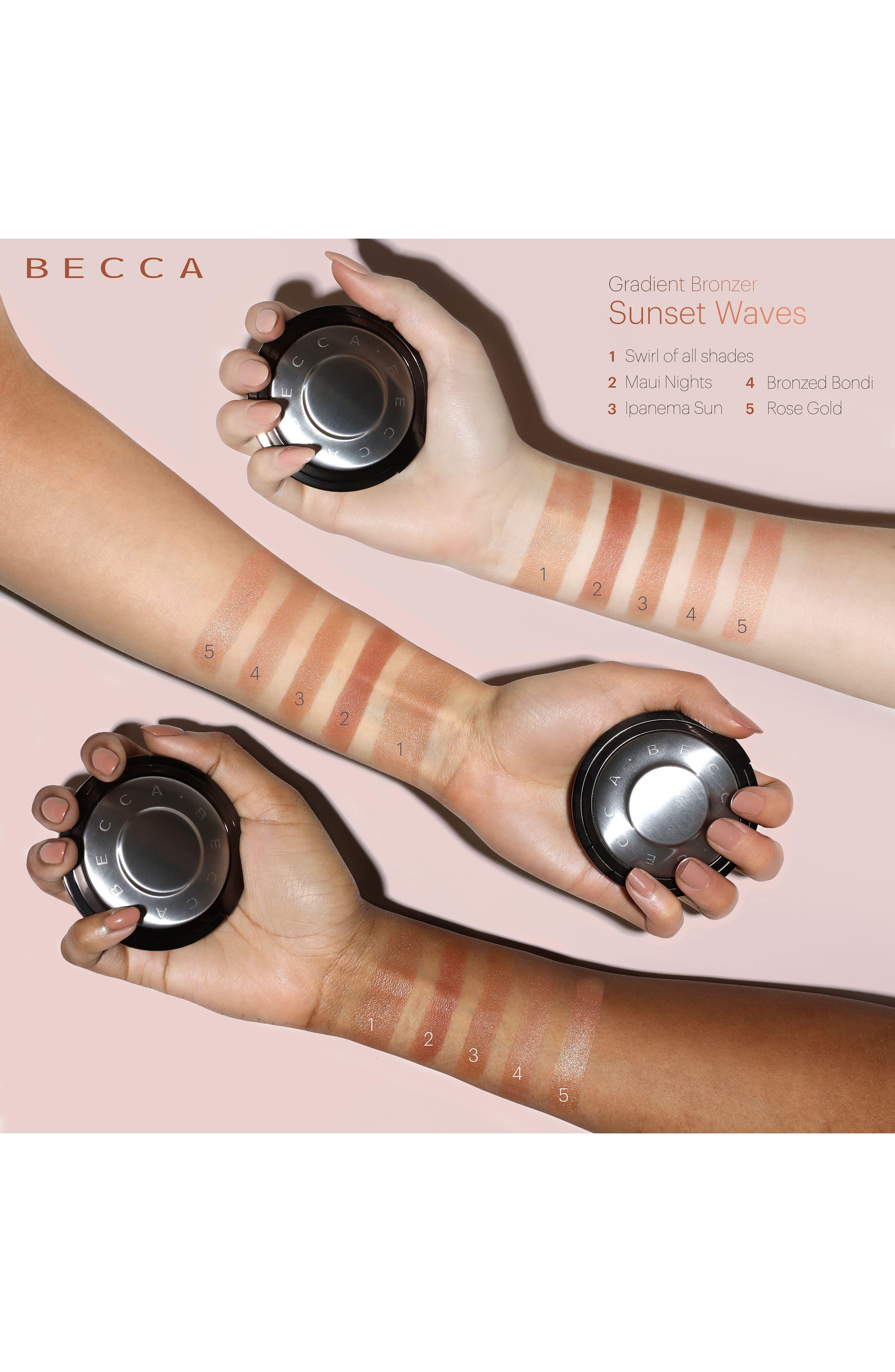 BECCA Gradient Sunlit Bronzer,                             Alternate thumbnail 2, color,