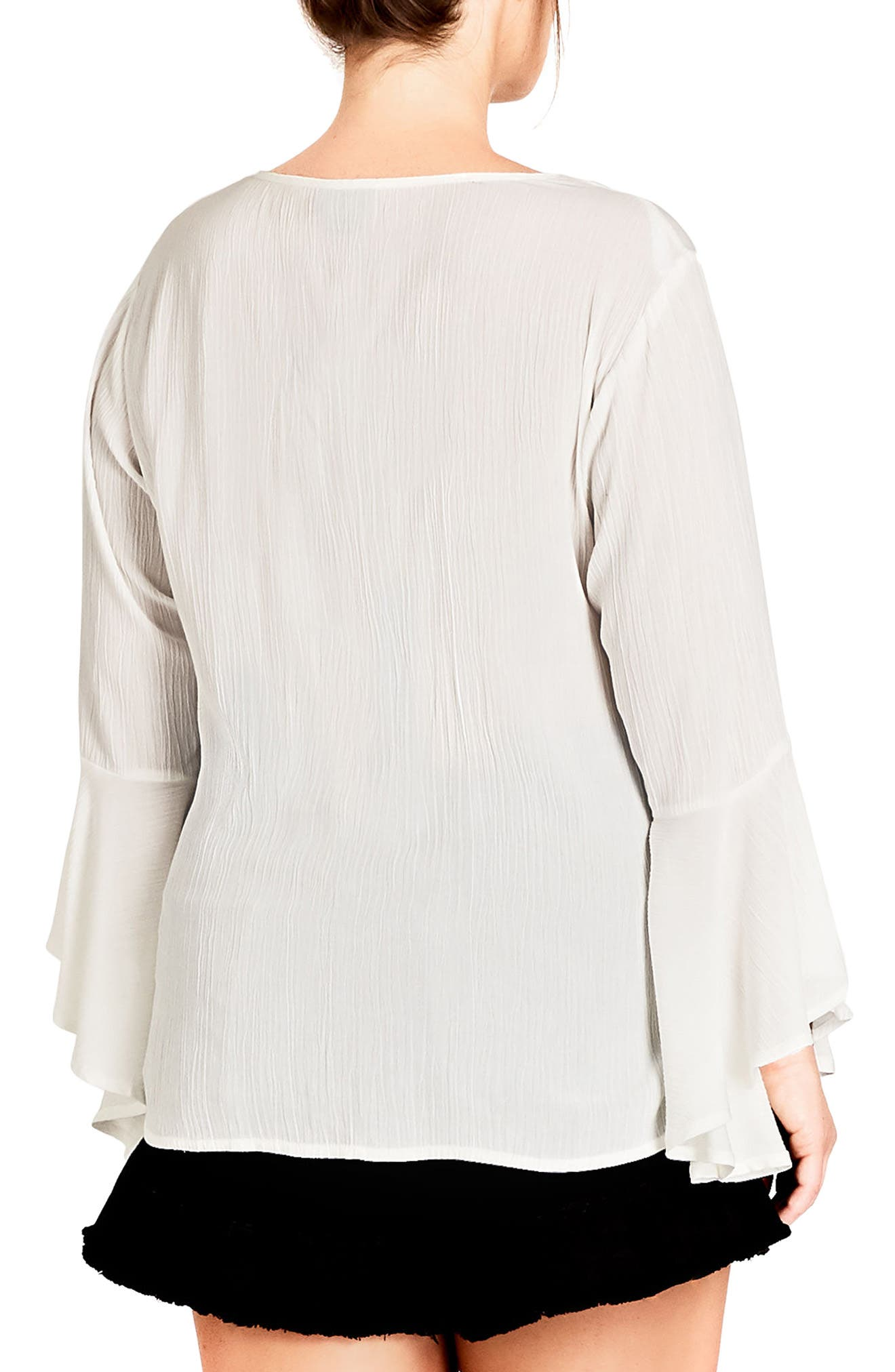 Lover Embroidered Tunic,                             Alternate thumbnail 2, color,                             Ivory