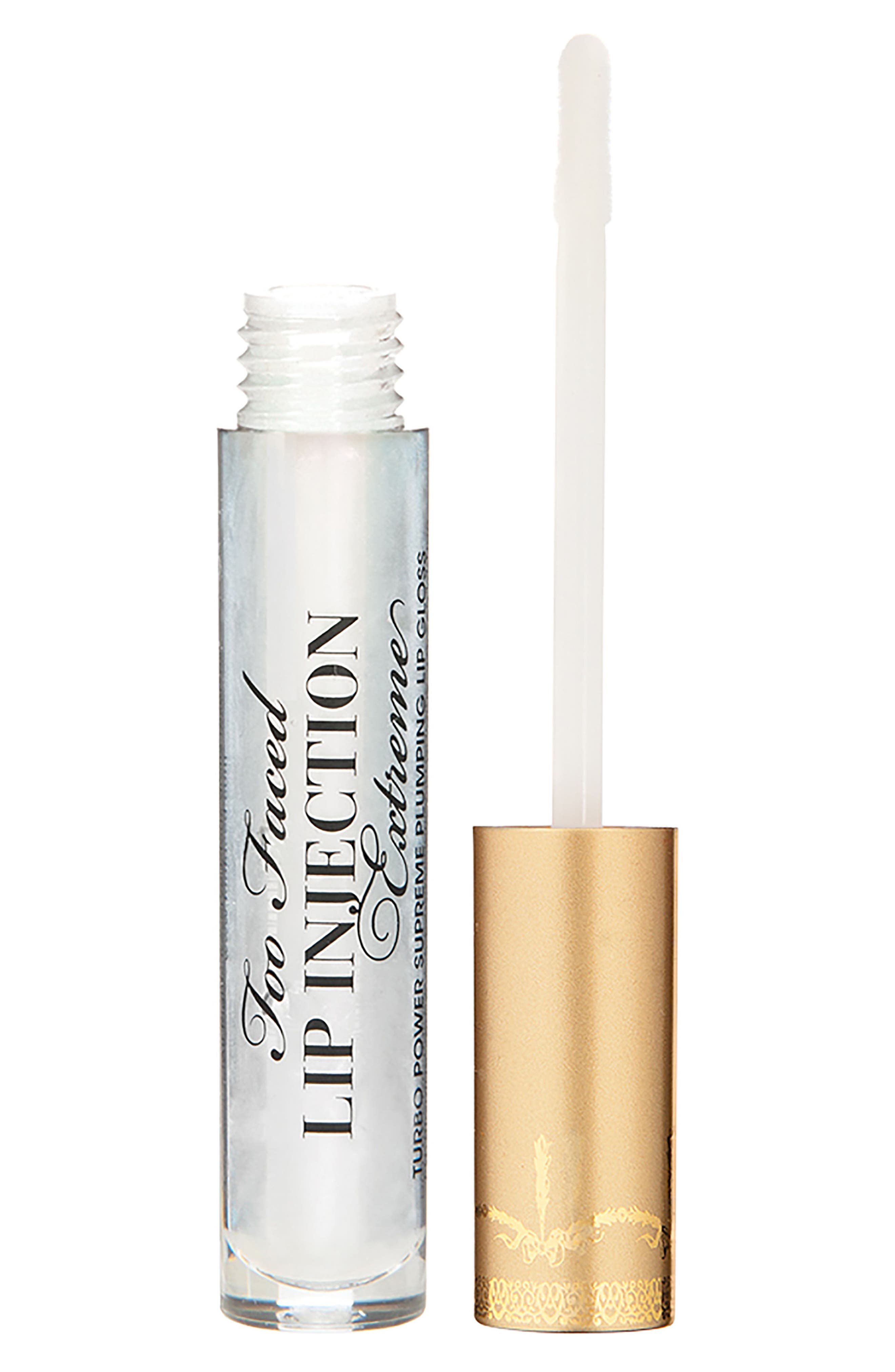 Lip Injection Extreme Lip Gloss,                             Main thumbnail 1, color,                             No Color