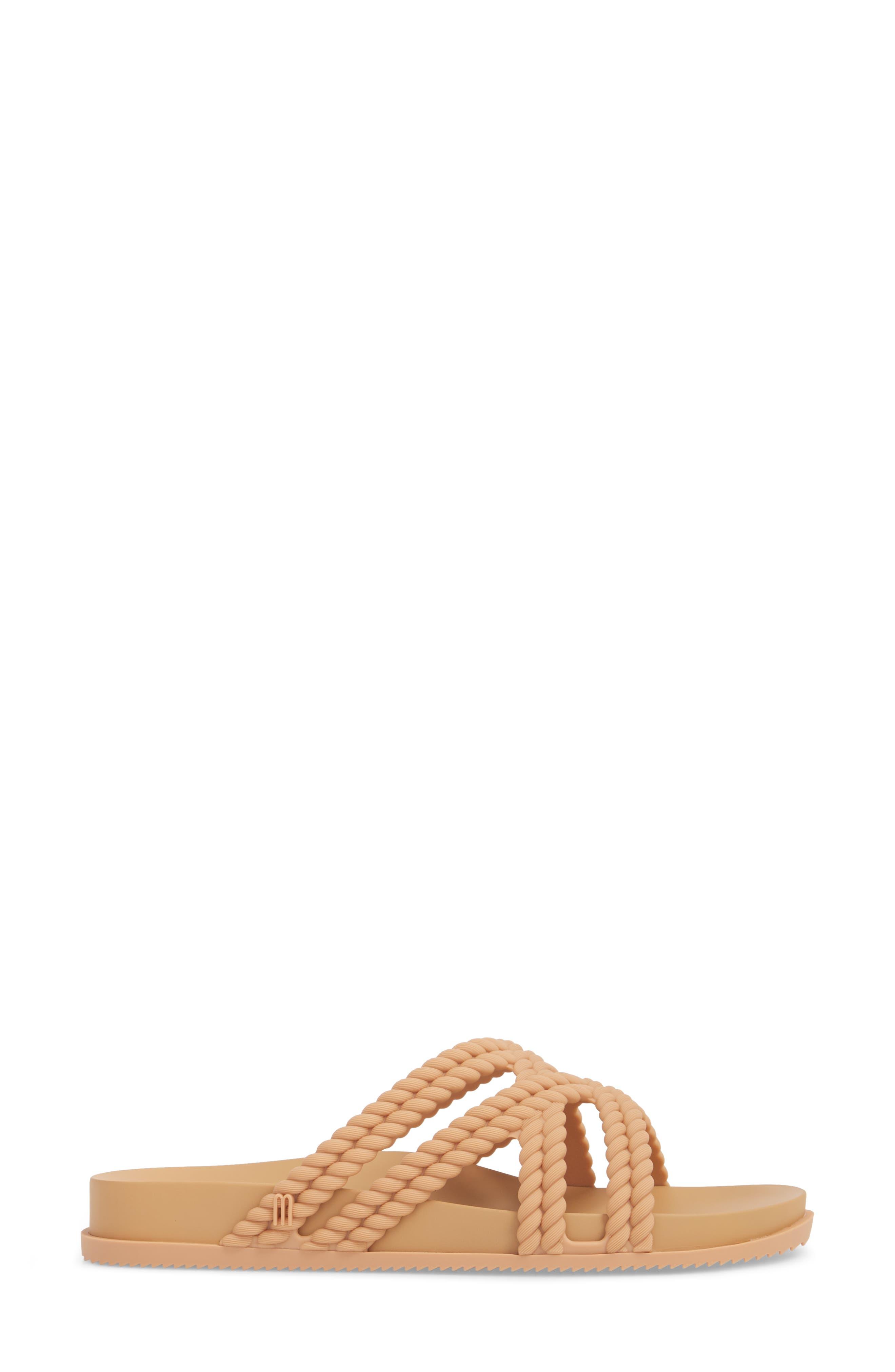 Cosmic Salinas Slide Sandal,                             Alternate thumbnail 3, color,                             Light Brown