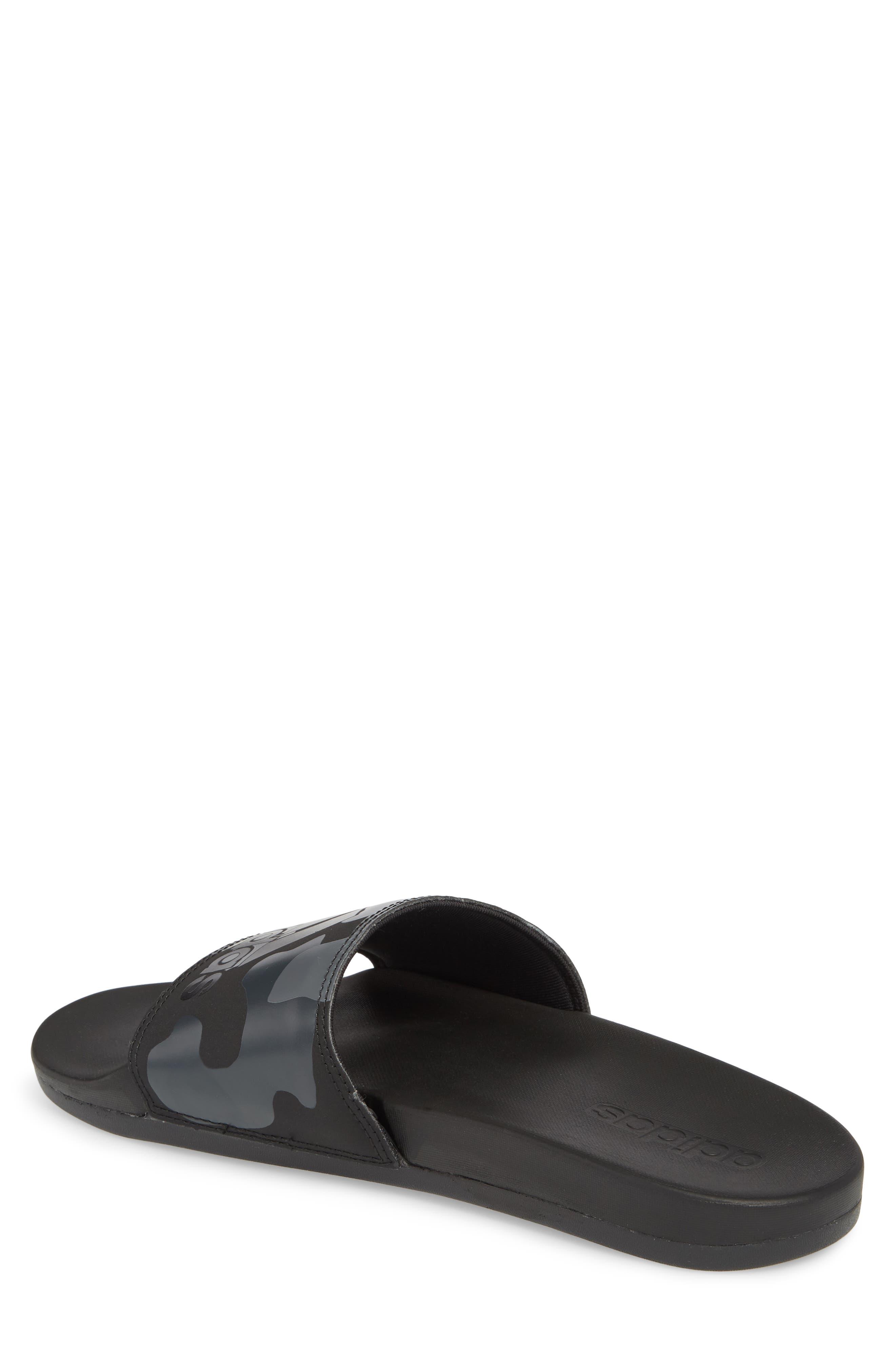 Cloudfoam Plus Slide Sandal,                             Alternate thumbnail 2, color,                             Core Black/ White/ Carbon