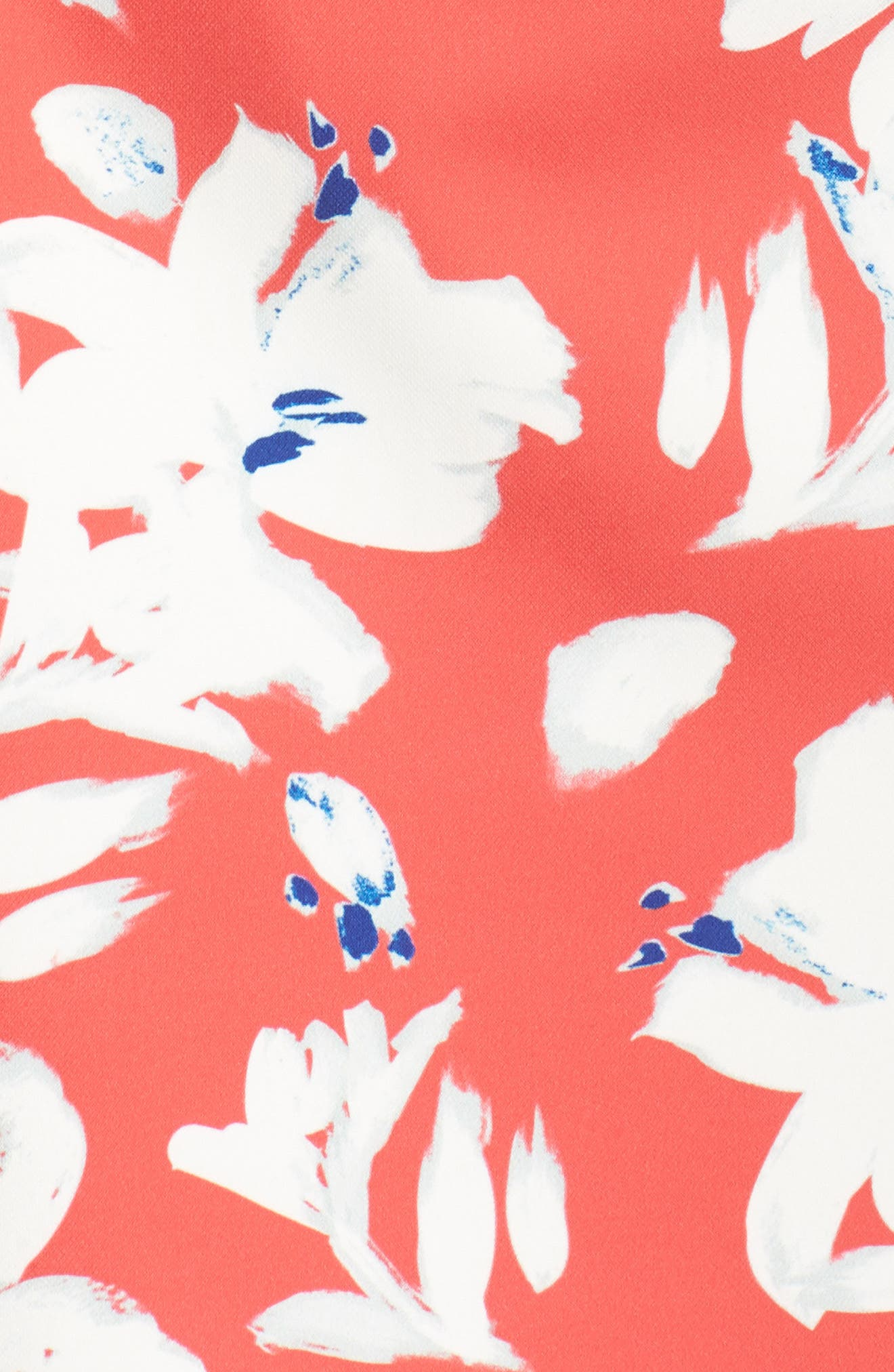 Print Sweetheart Minidress,                             Alternate thumbnail 6, color,                             Azalea