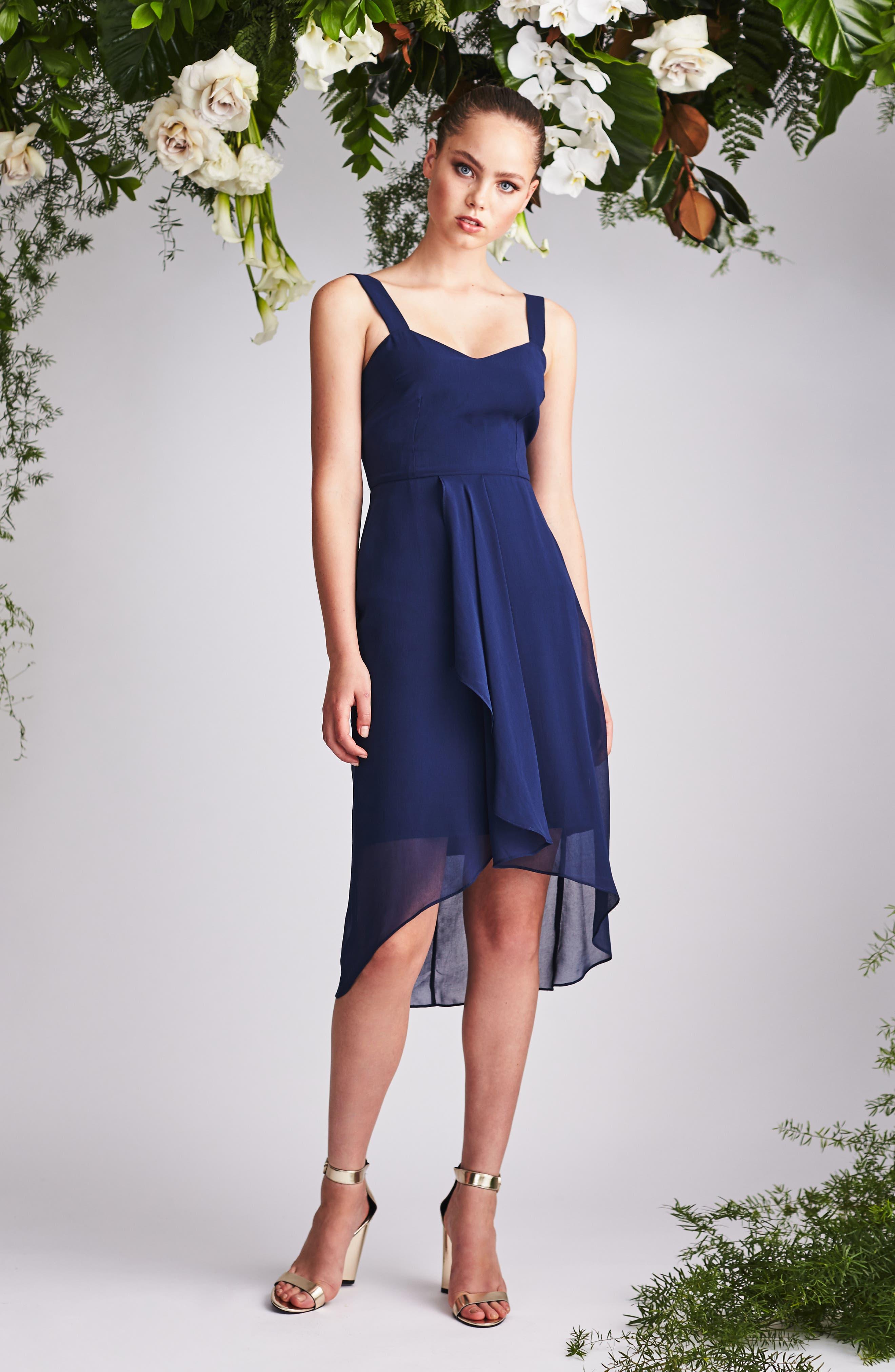 Utopia Midi Dress,                             Alternate thumbnail 2, color,