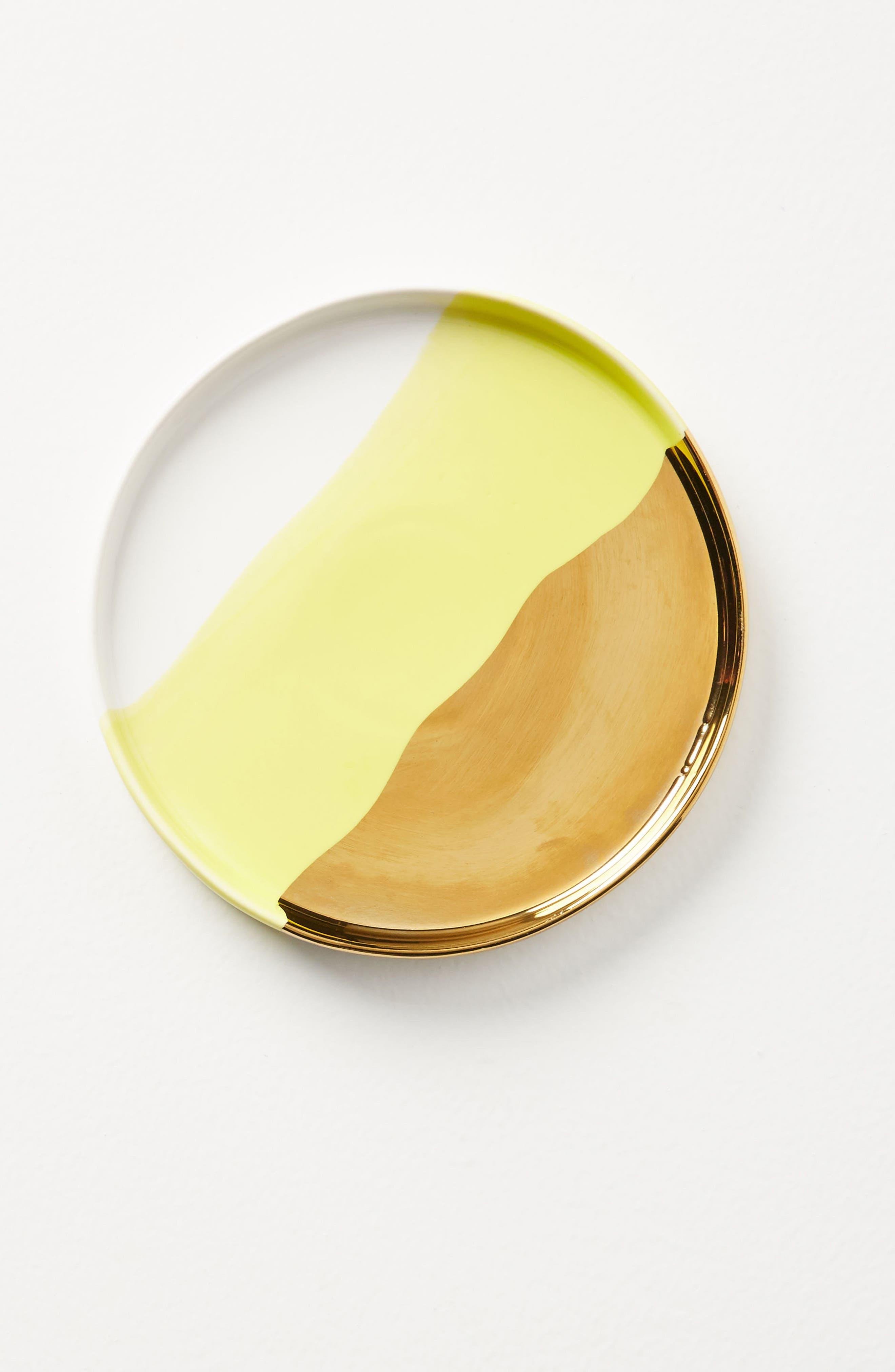 Tamatoa Side Plate,                         Main,                         color, Chartreuse