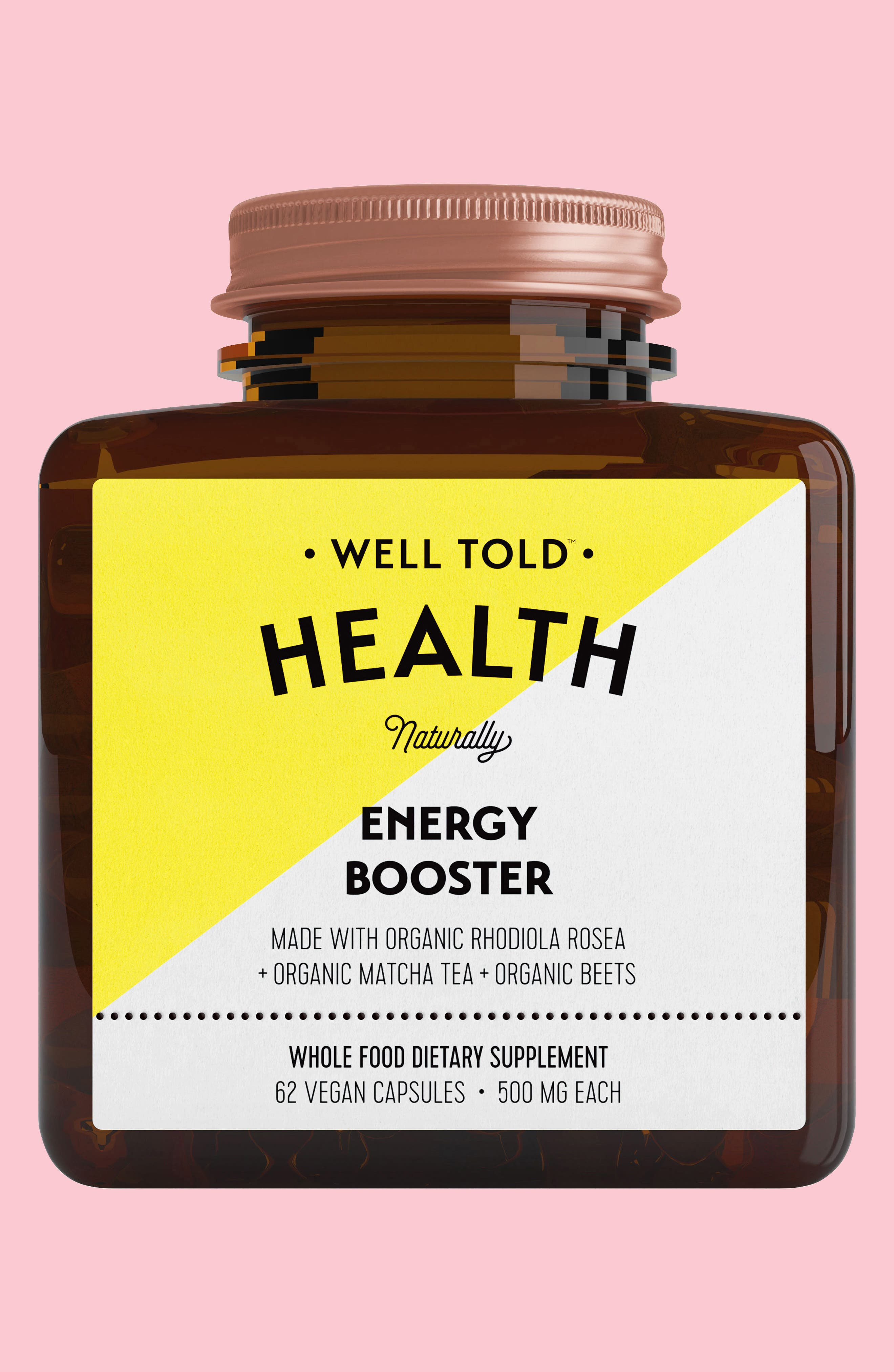 Energy Booster Dietary Supplement,                             Main thumbnail 1, color,                             None