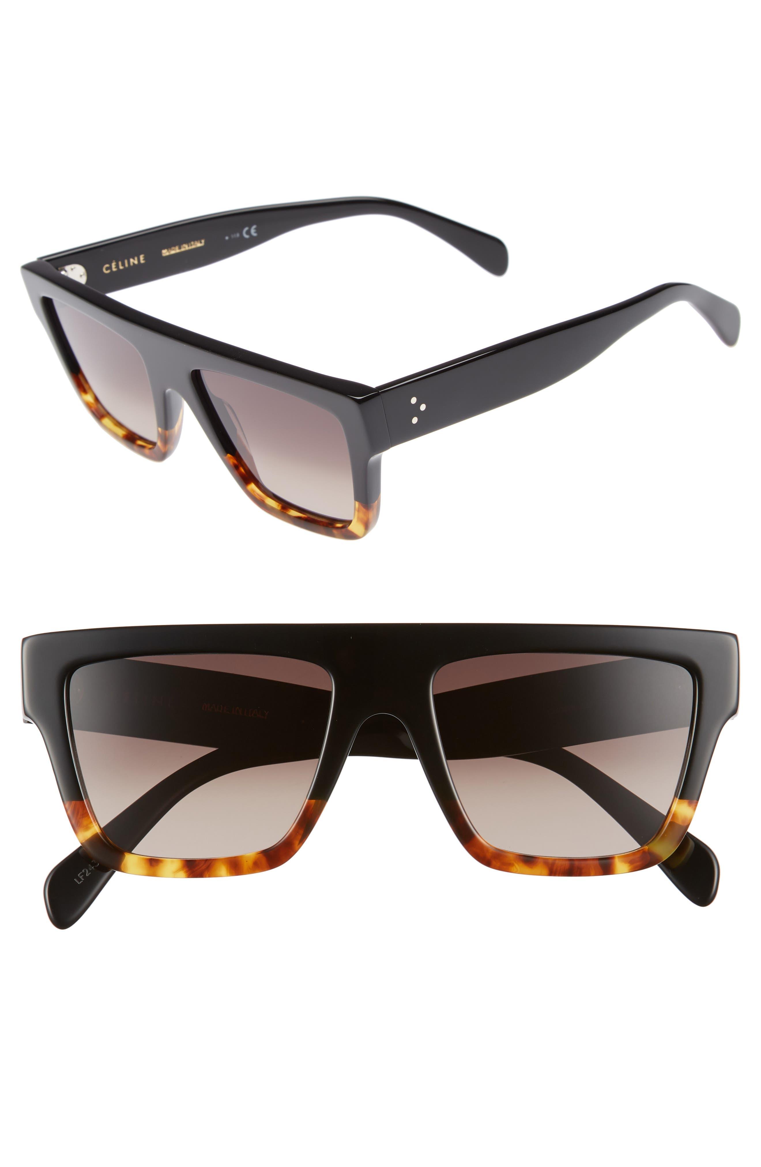 Céline 59mm Square Sunglasses