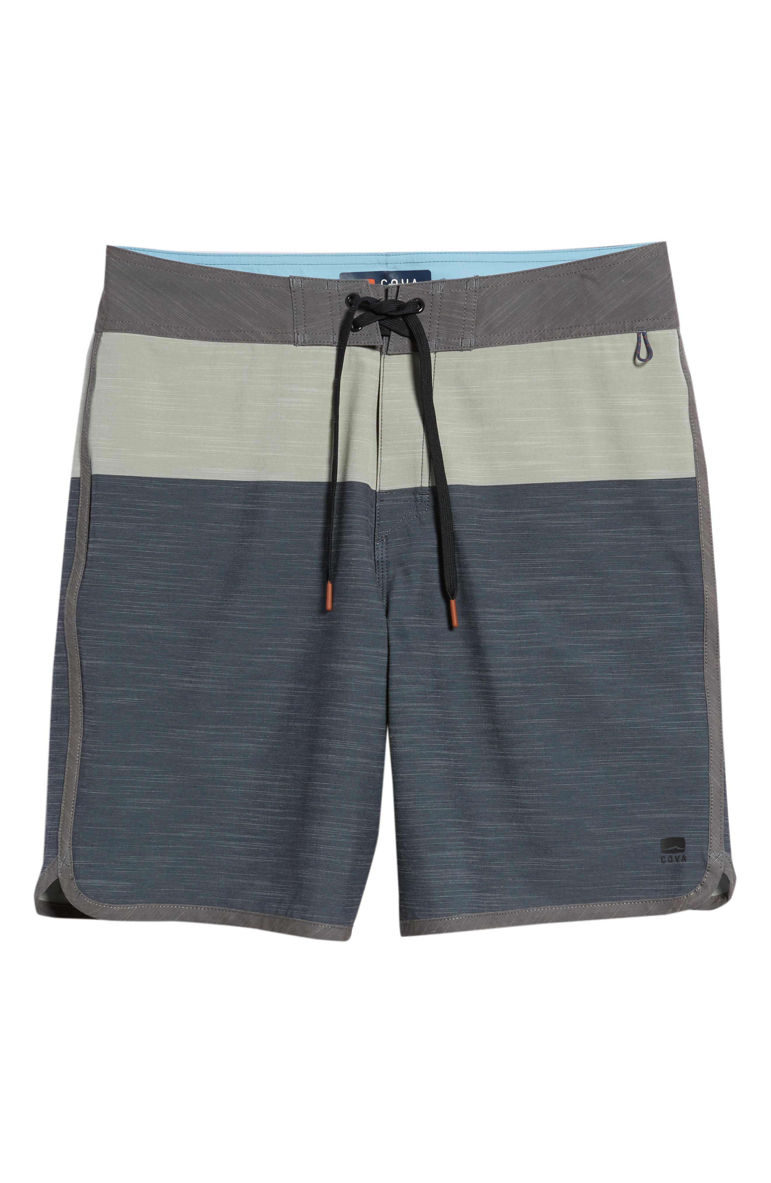 Water Level Board Shorts,                             Alternate thumbnail 6, color,                             Harbour Blue
