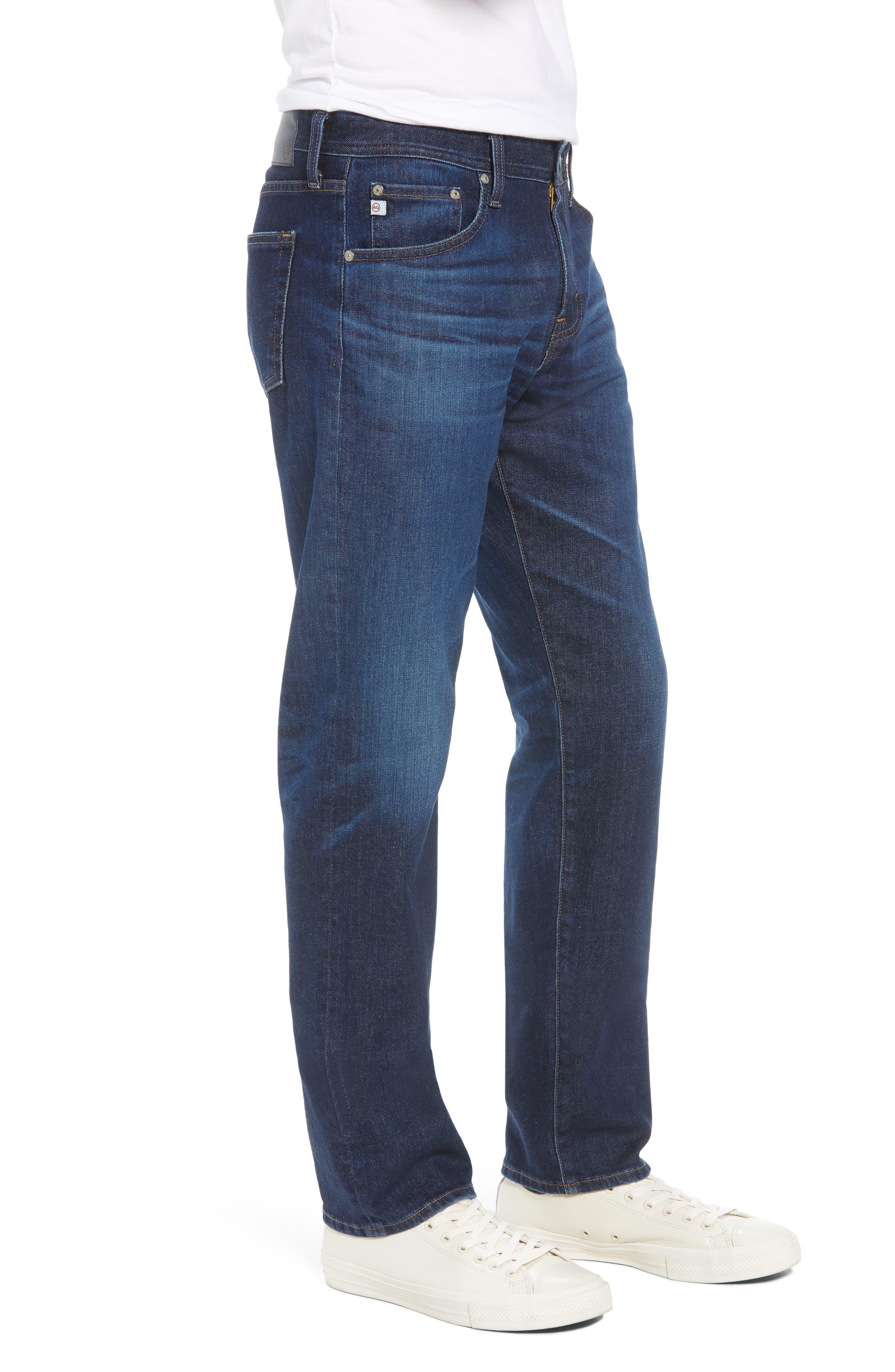 Graduate Slim Straight Fit Jeans,                             Alternate thumbnail 3, color,                             5 Years Lost Coast