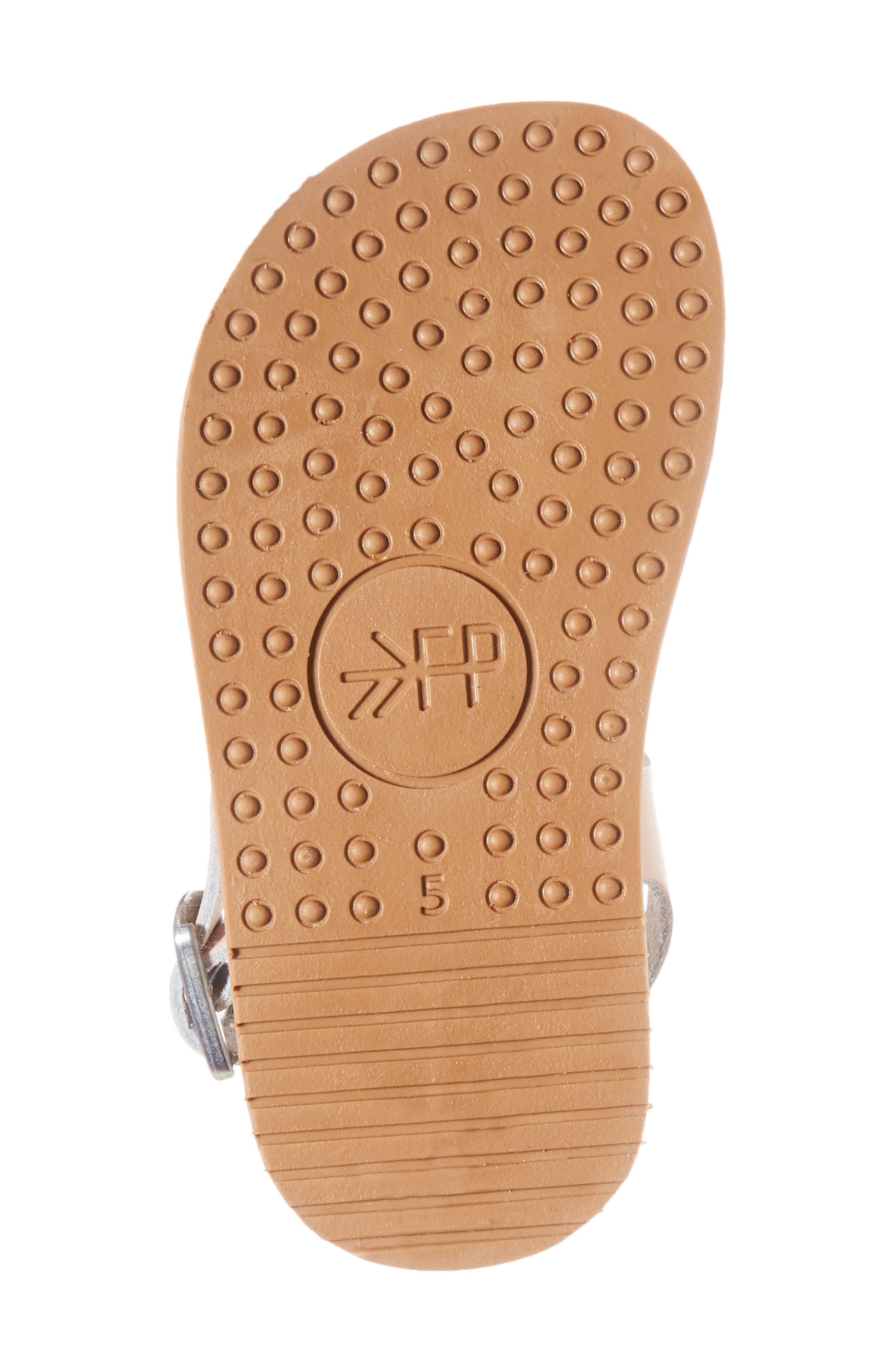 Malibu Water Resistant Sandal,                             Alternate thumbnail 6, color,                             Blush