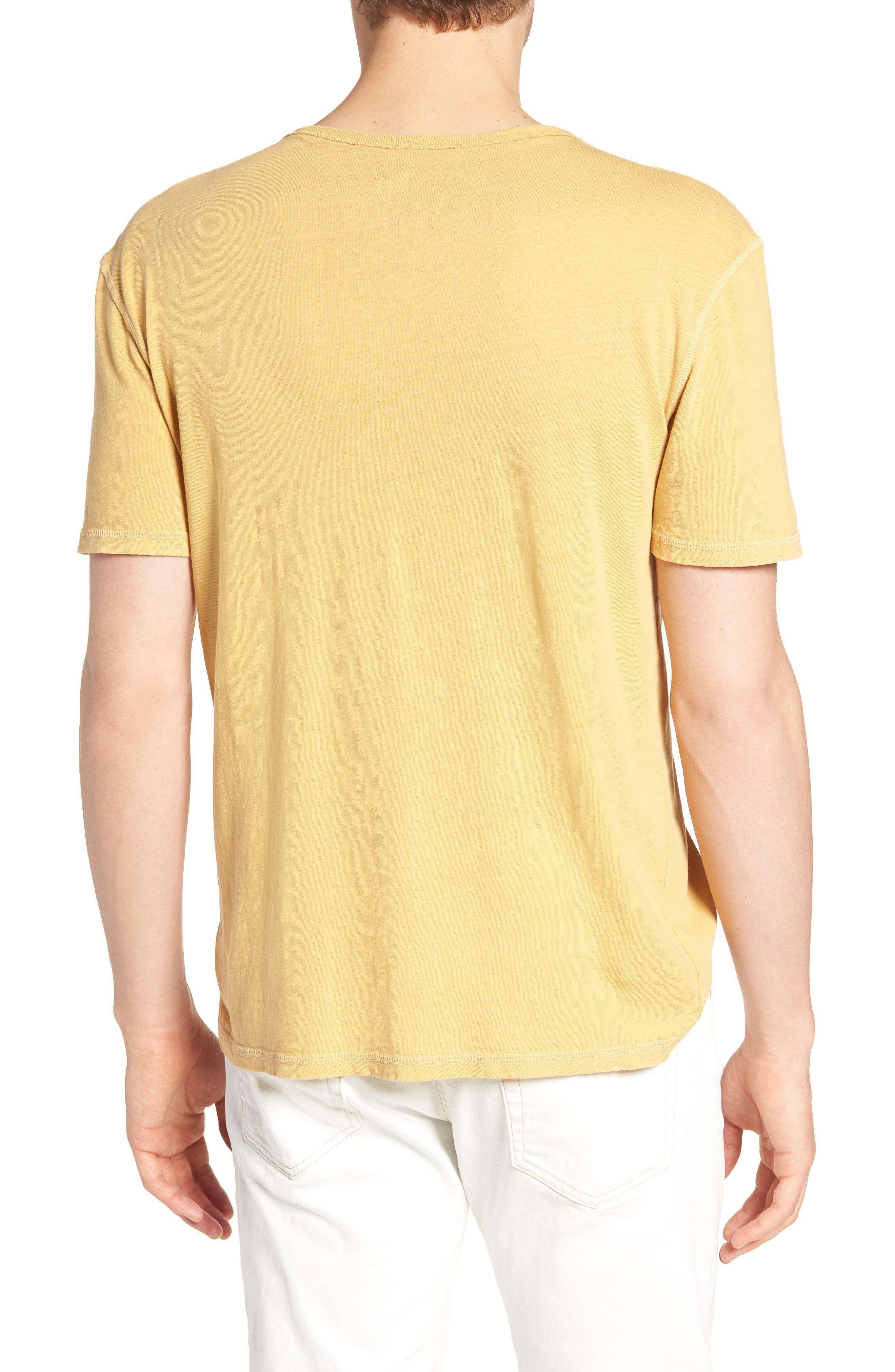 Ramsey Slim Fit Crewneck T-Shirt,                             Alternate thumbnail 2, color,                             Weathered Golden Emmer