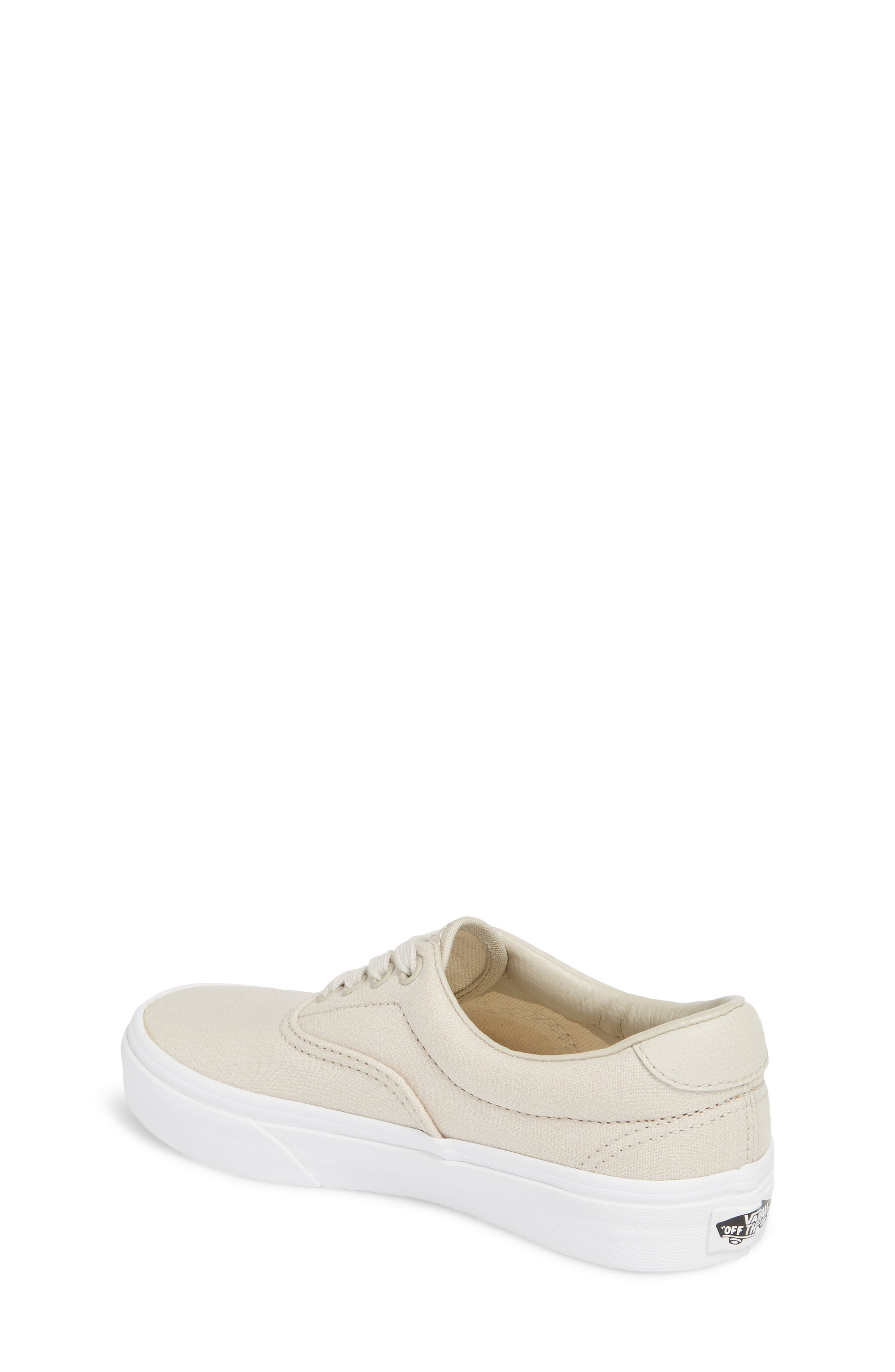 Era 59 Bleacher Sneaker,                             Alternate thumbnail 2, color,                             Silver Lining/ True White