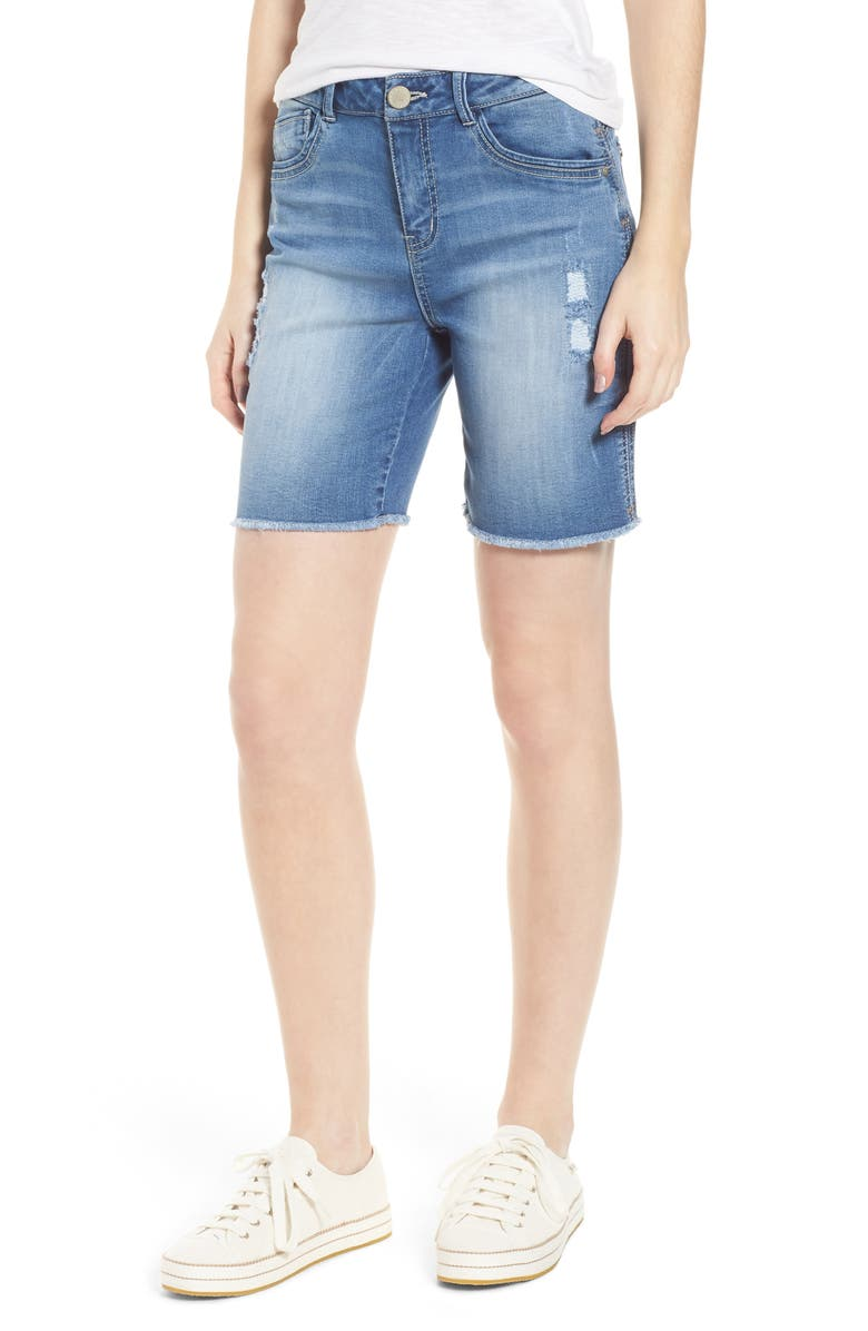 Flex-Ellent High Rise Denim Shorts