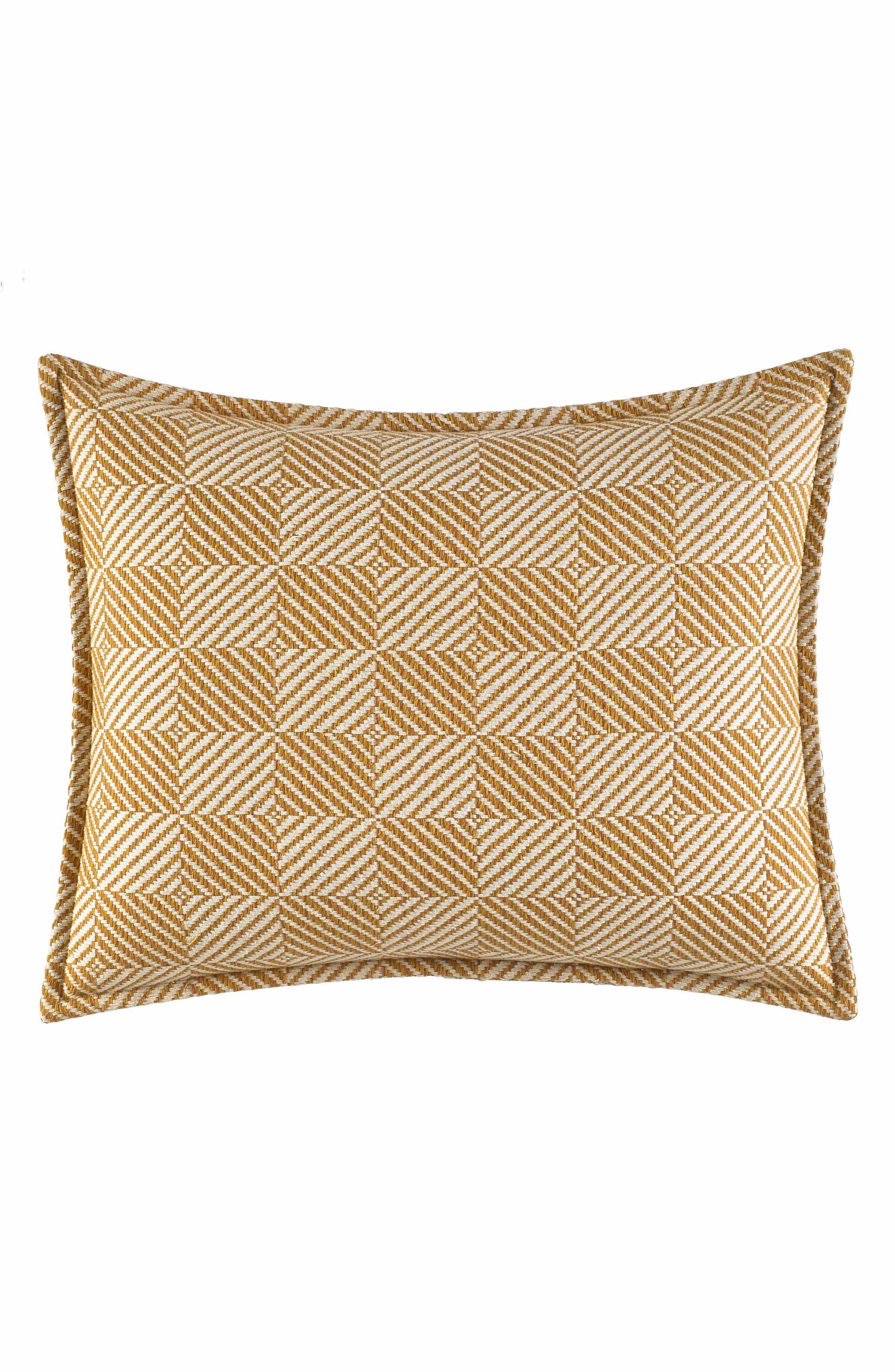 Kamari Chevron Accent Pillow,                             Main thumbnail 1, color,                             Lt-Pastel Brown