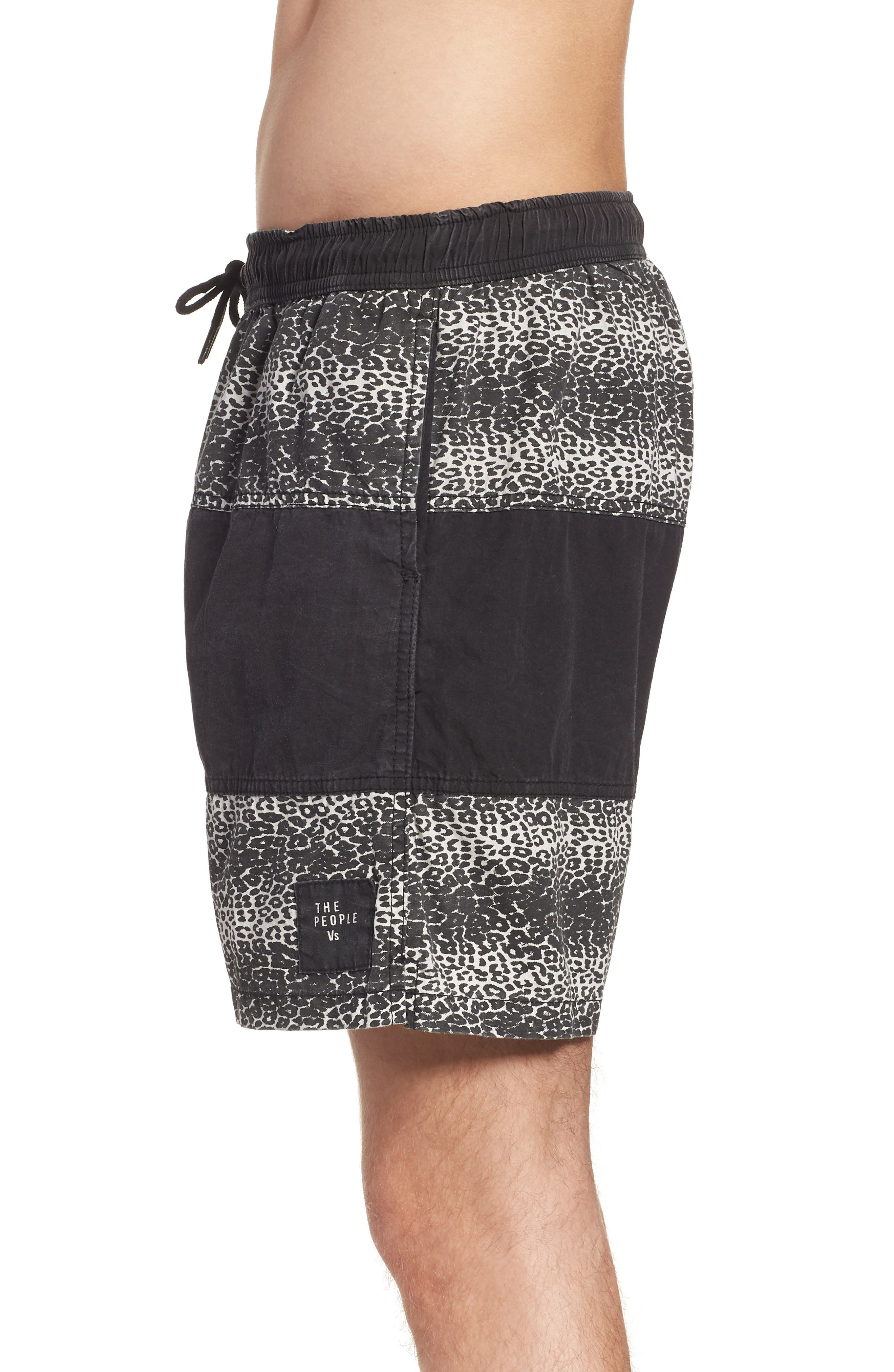 Easy Boardie Shorts,                             Alternate thumbnail 3, color,                             Snow Leopard