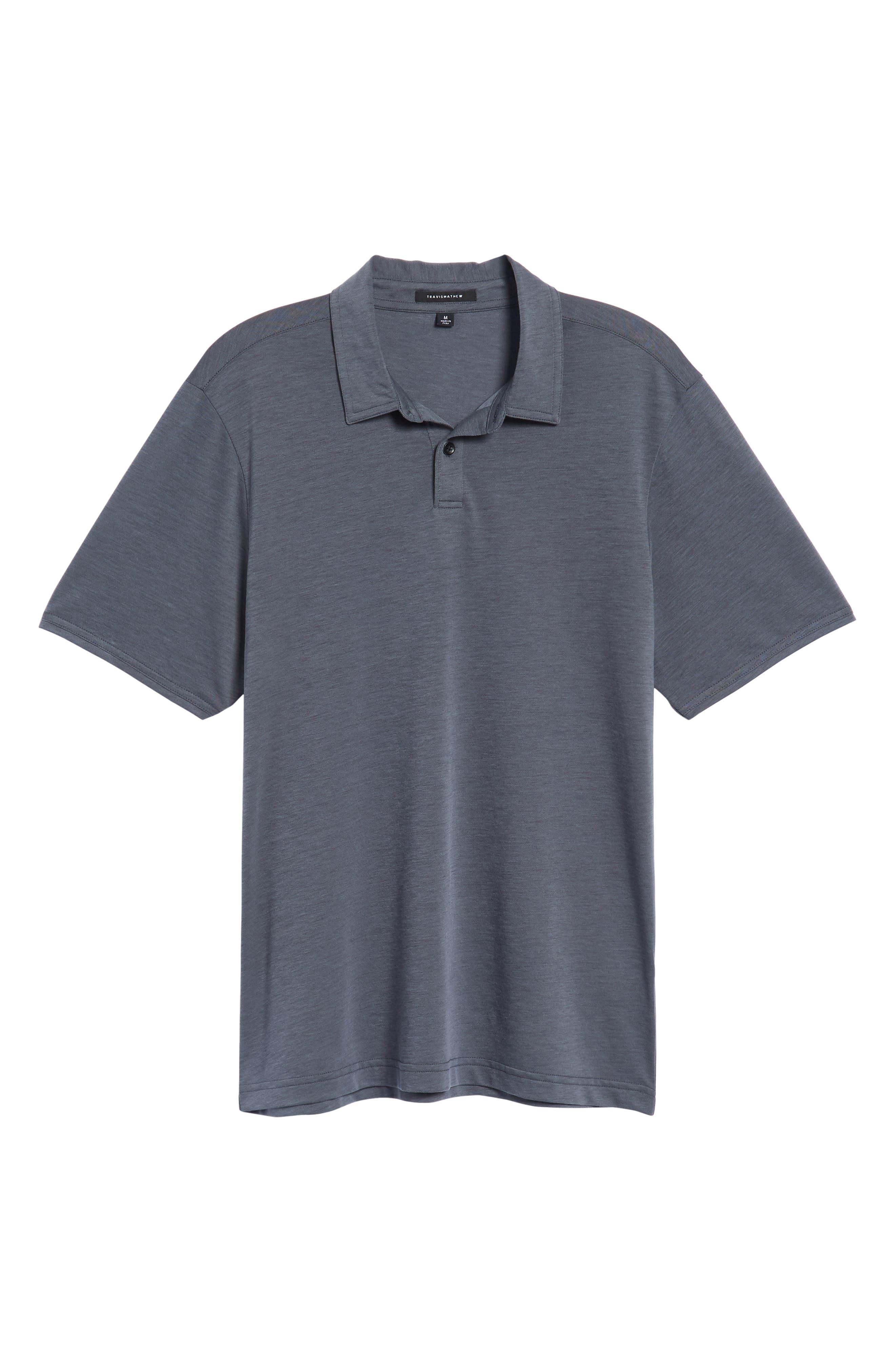 Shalene Regular Fit Polo,                             Alternate thumbnail 6, color,                             Grisaille/ Black