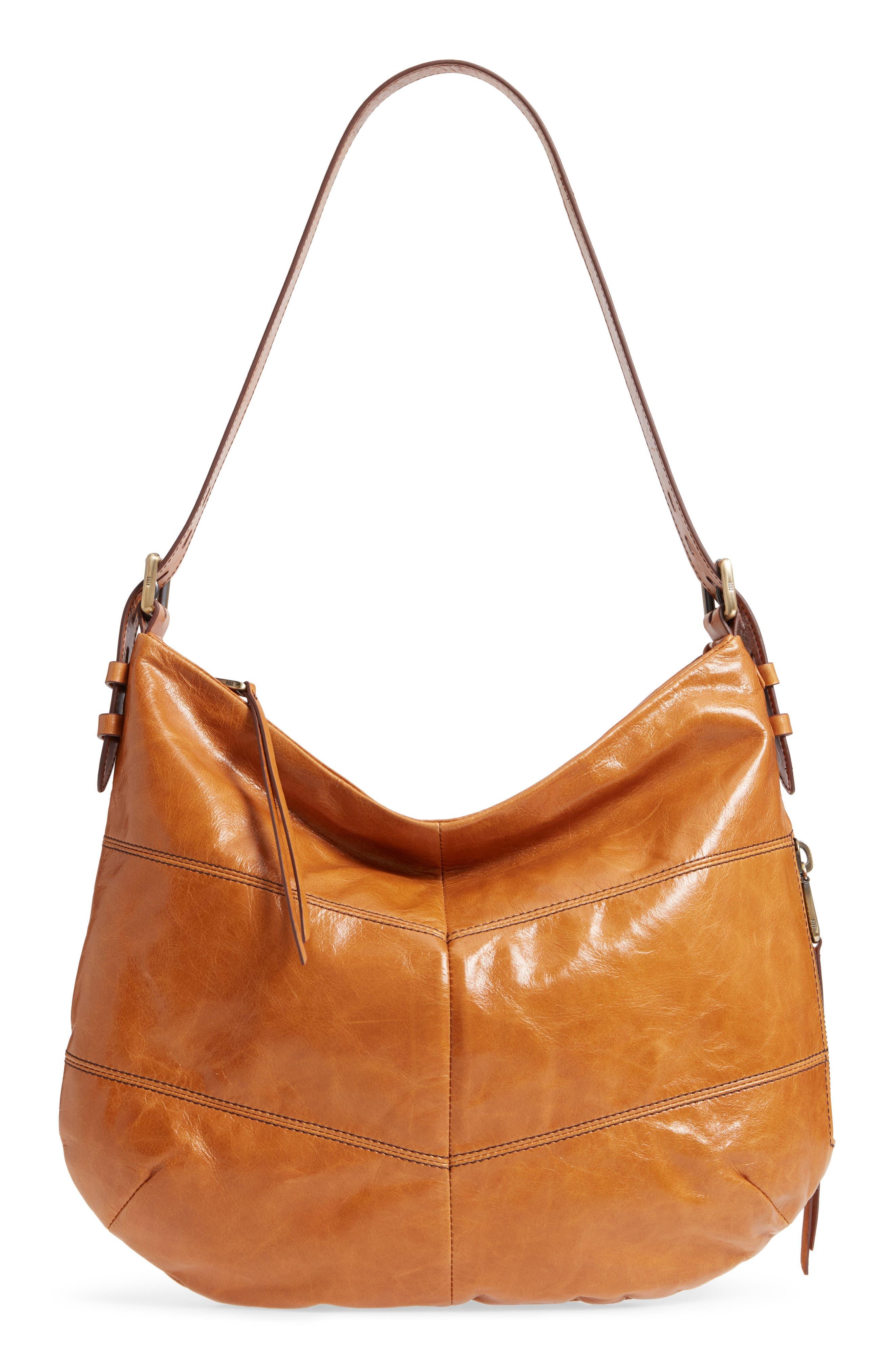 Hobo Serra Leather Hobo Bag