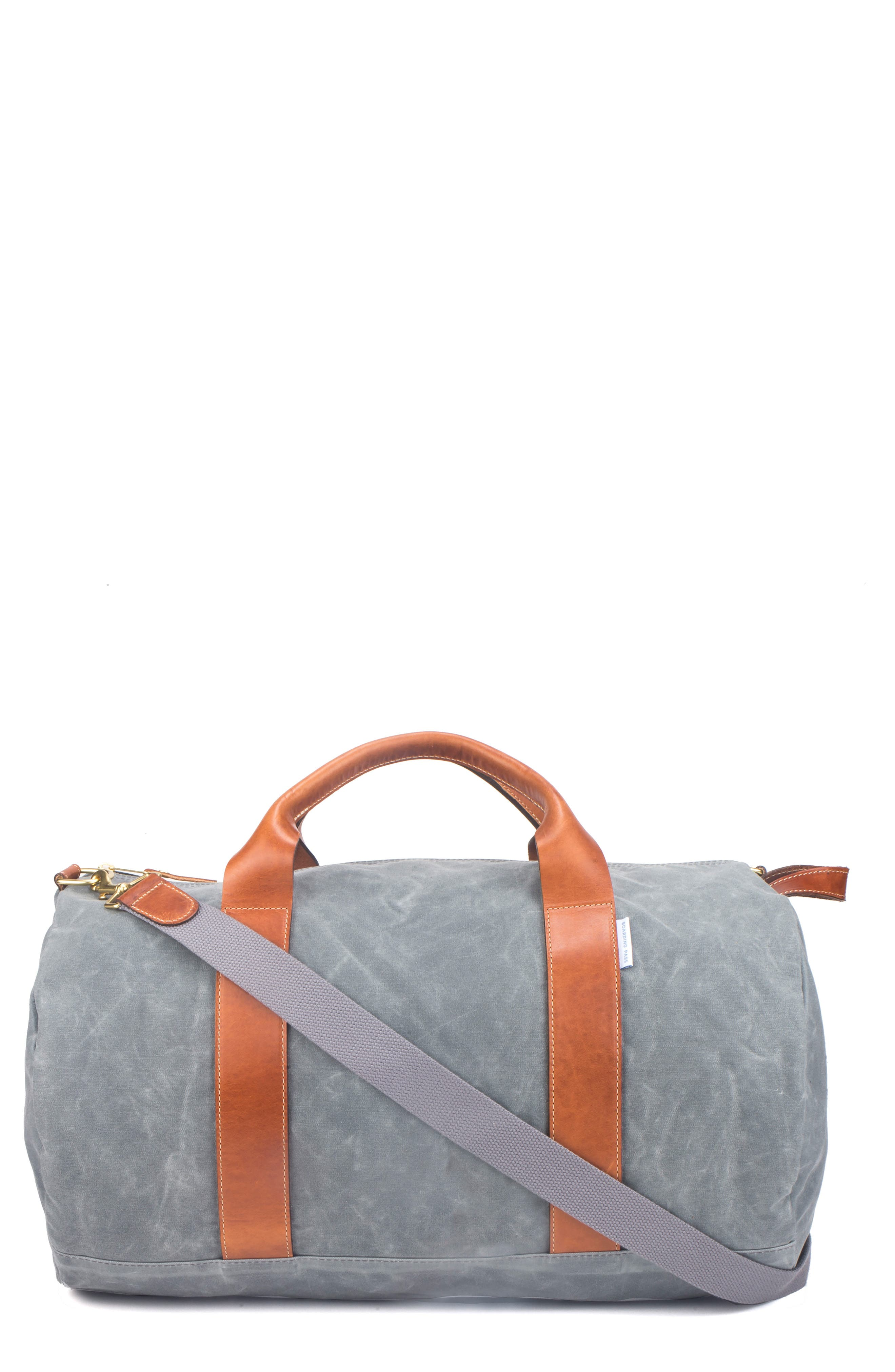 VOYAGER DUFFEL BAG - GREY