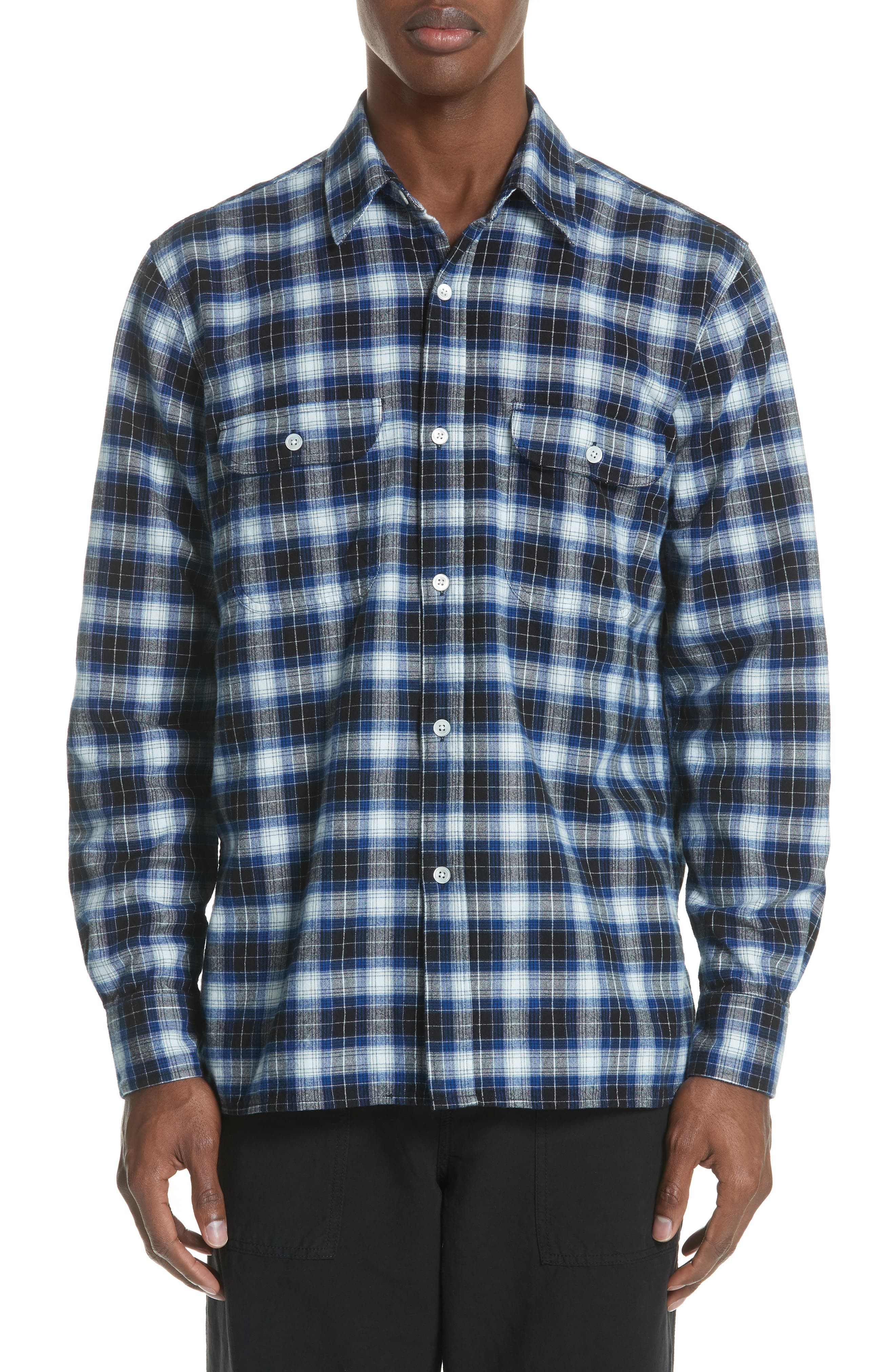 OUR LEGACY Country Check Woven Shirt