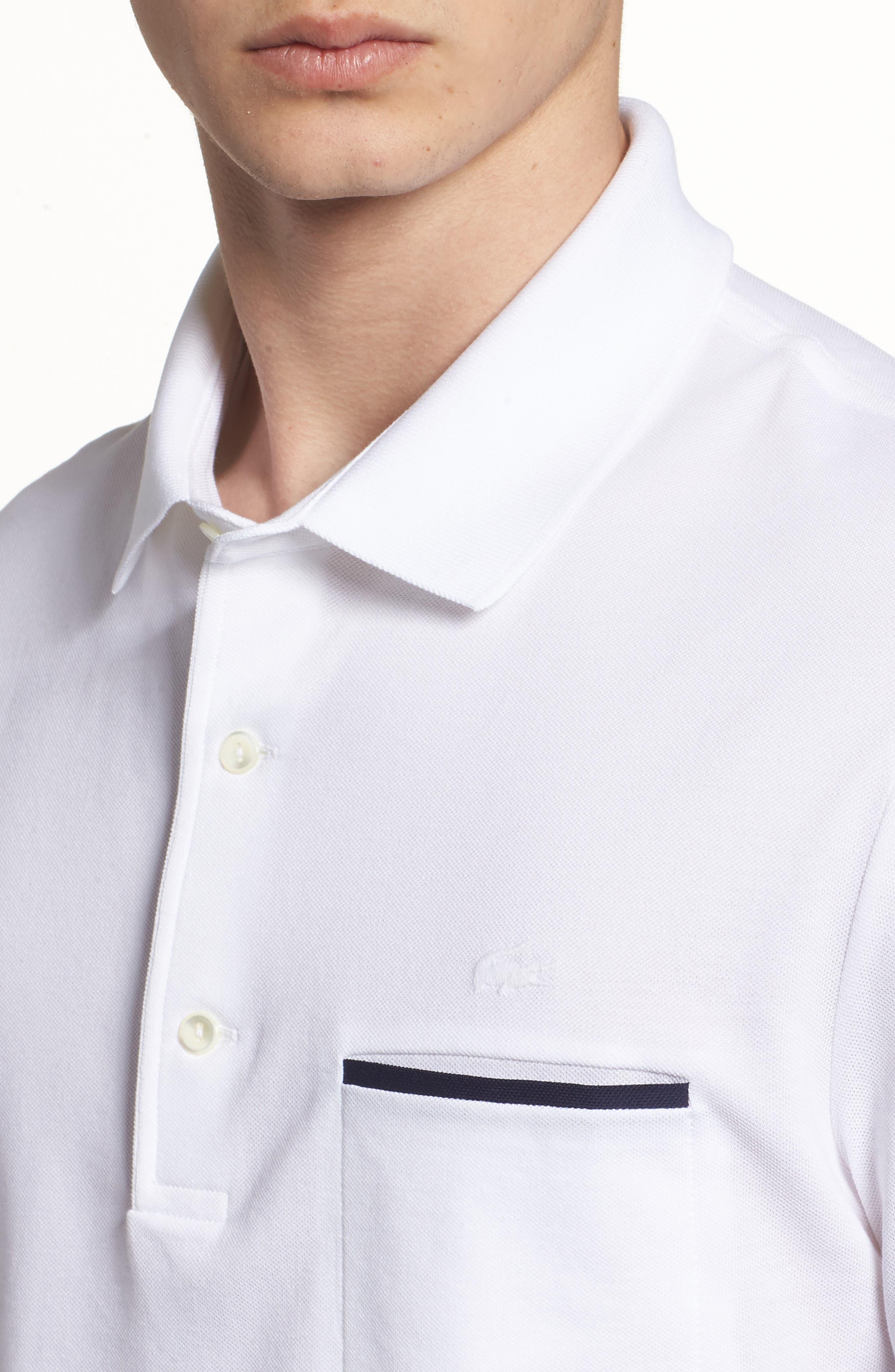 Alternate Image 4  - Lacoste Cas Eligance Piqué Polo