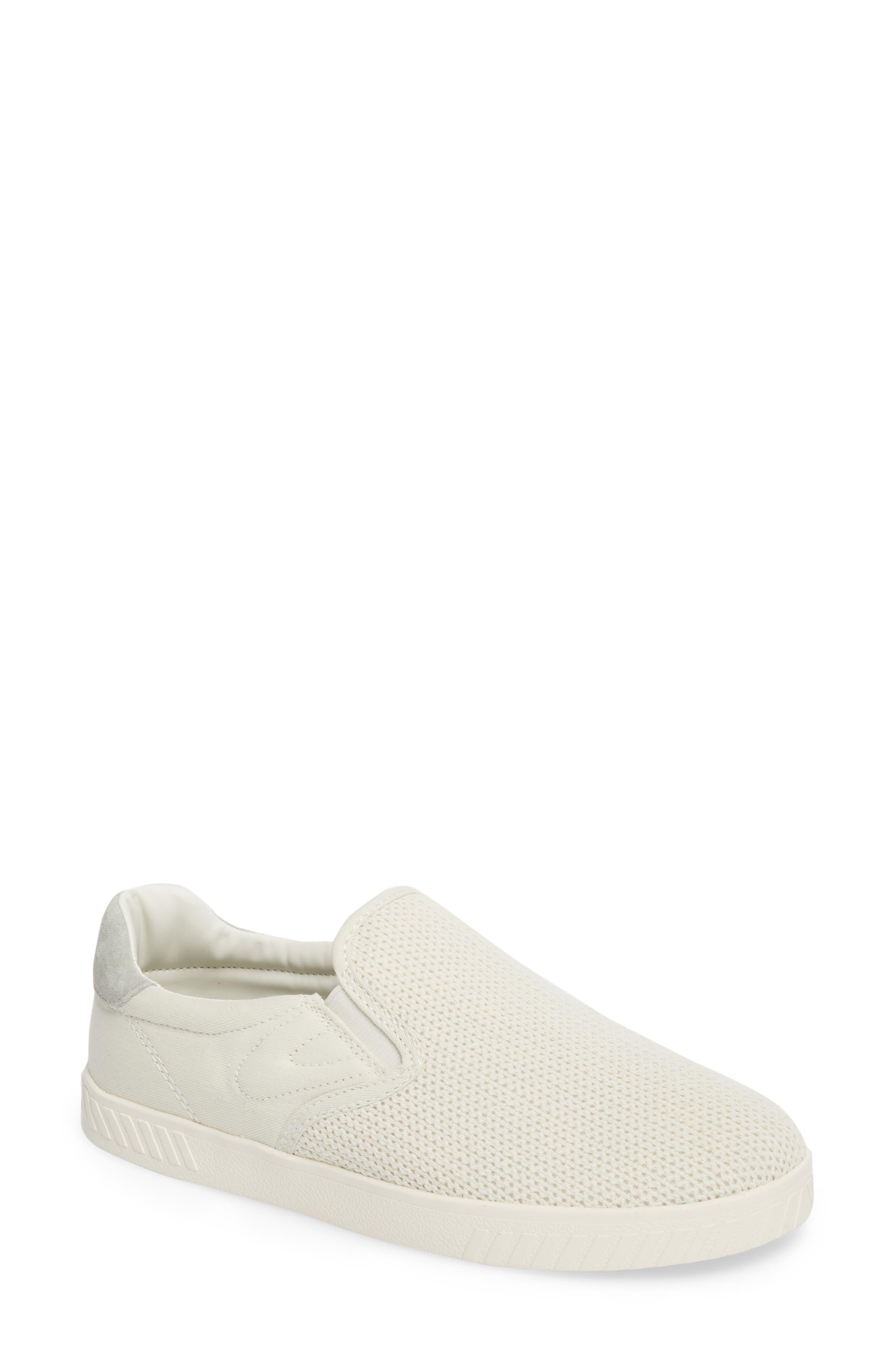 Cruz Mesh Slip-On Sneaker,                             Main thumbnail 1, color,                             Vintage White