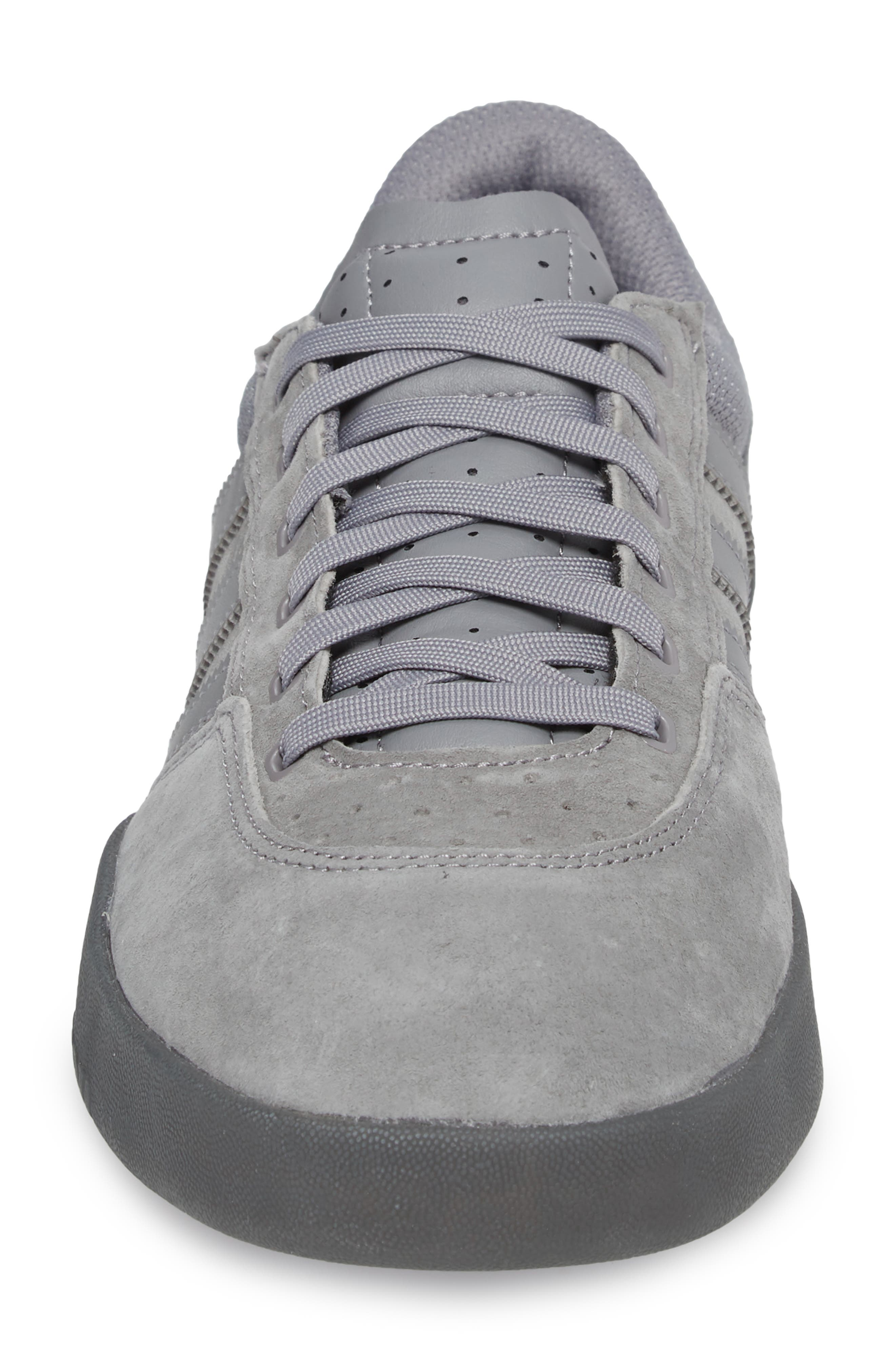 City Cup Sneaker,                             Alternate thumbnail 4, color,                             Grey/ Gold