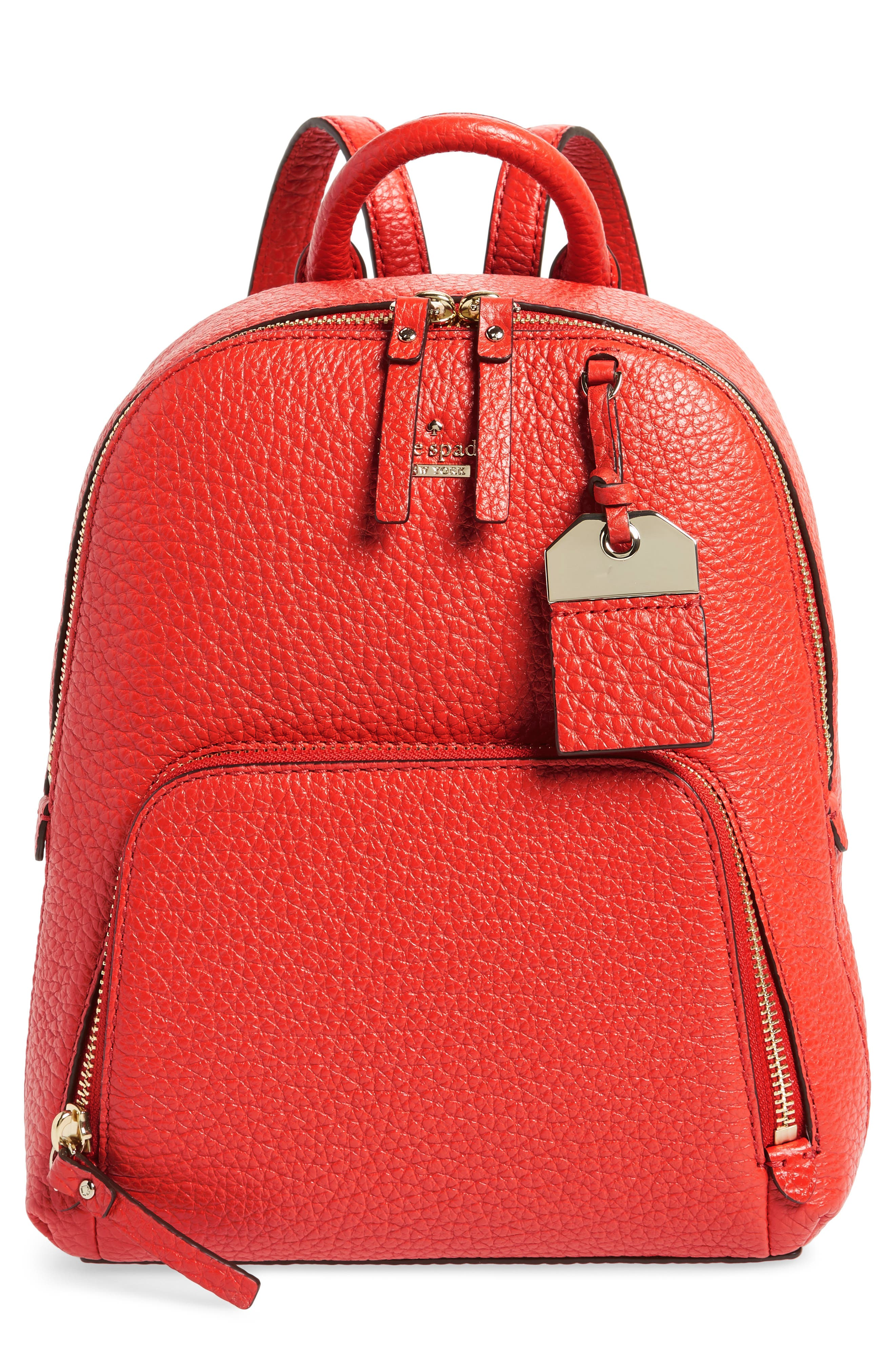 Main Image - kate spade new york carter street - caden leather backpack