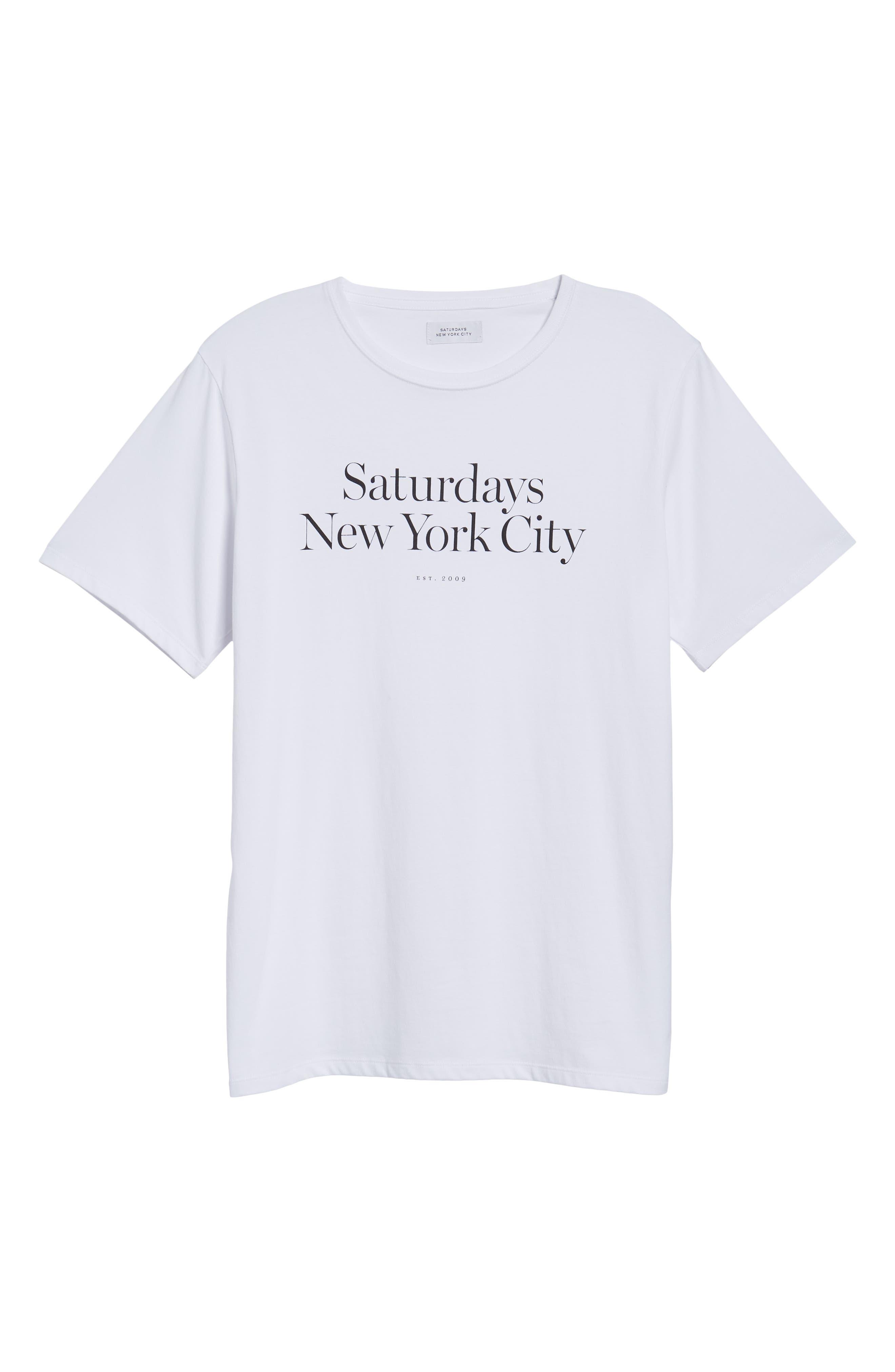Miller Standard T-Shirt,                             Alternate thumbnail 6, color,                             White