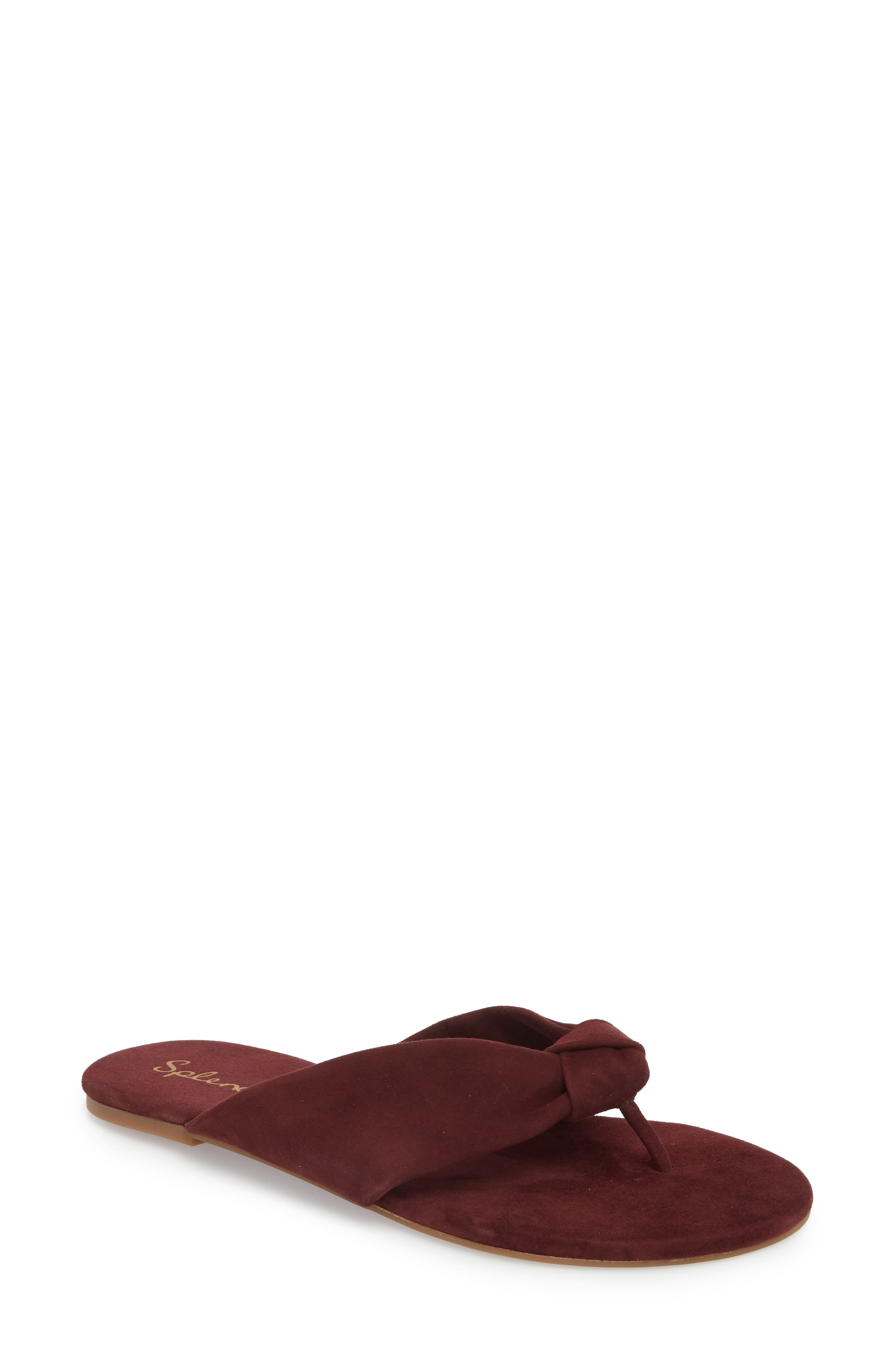 Main Image - Splendid Bridgette Knotted Flip Flop (Women)