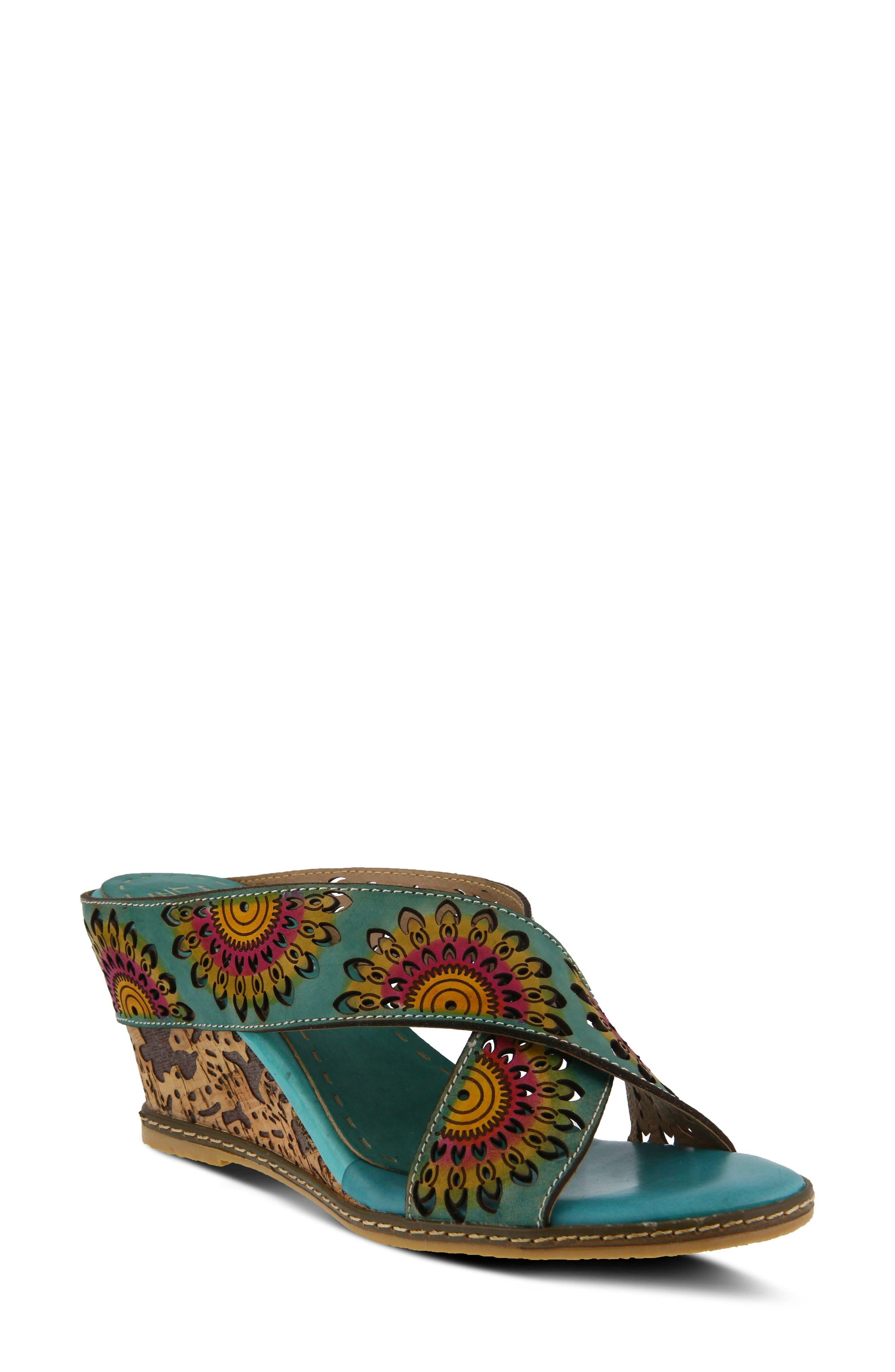 L'Artiste Enticing Wedge Sandal (Women)
