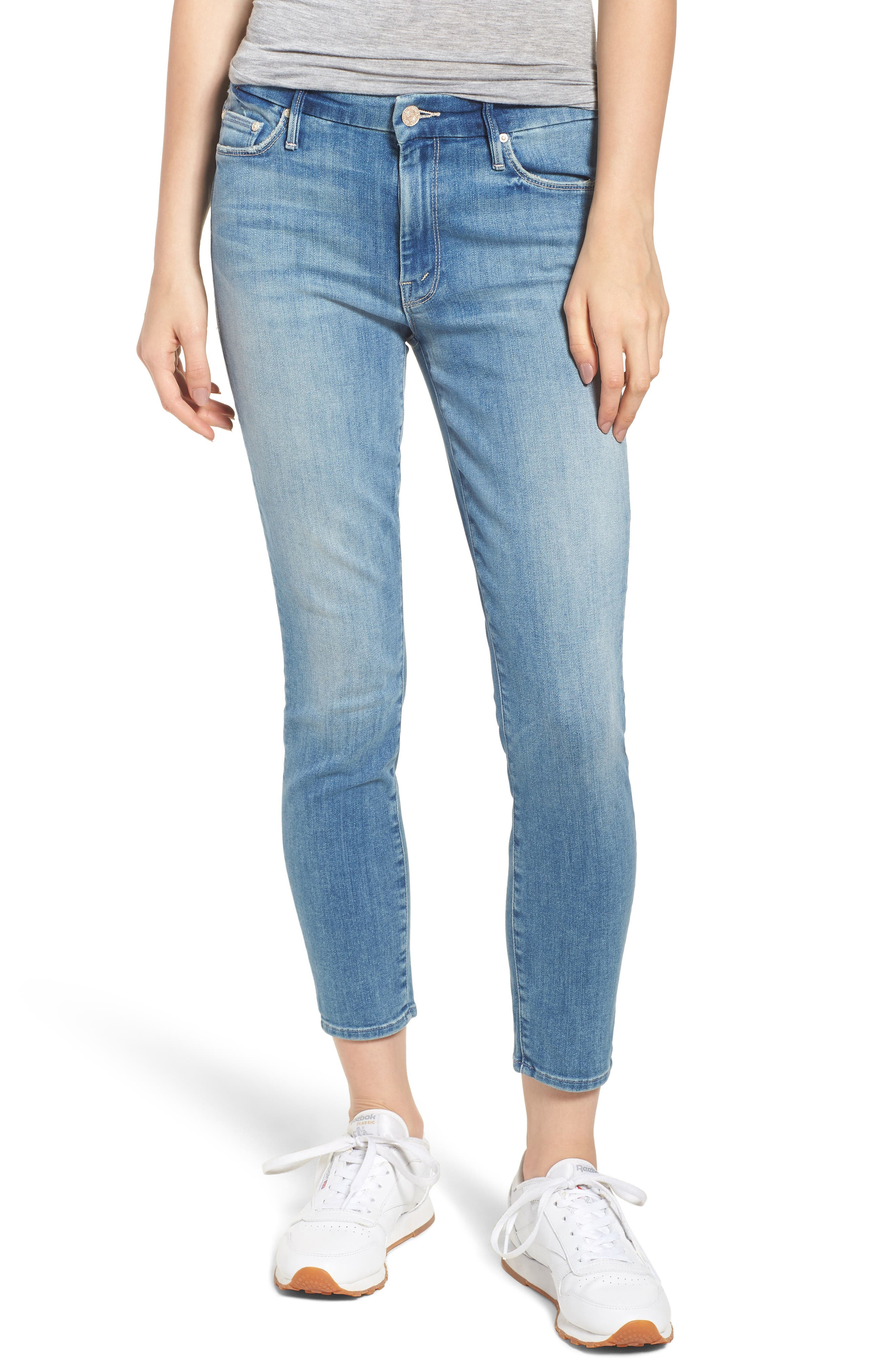 The Looker Crop Skinny Jeans,                             Main thumbnail 1, color,                             Well Played