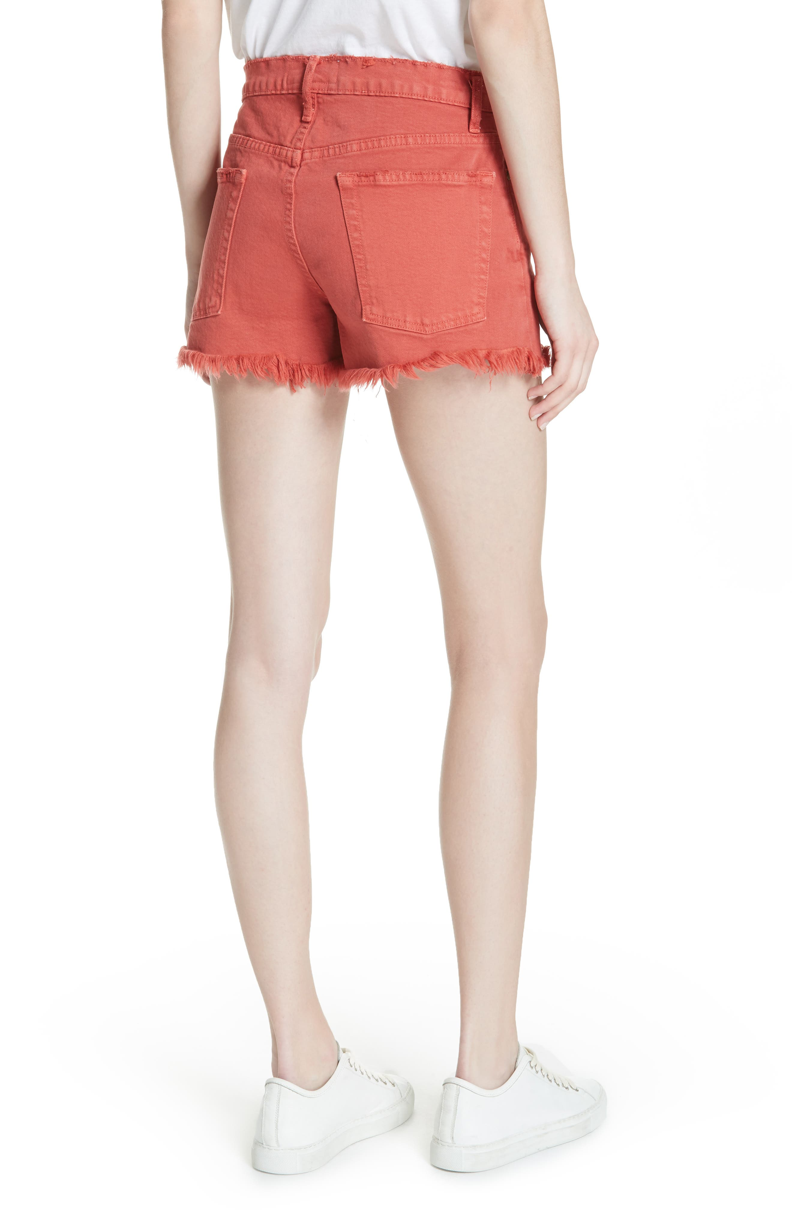 The Cut Off Shorts,                             Alternate thumbnail 2, color,                             Vintage Poppy Wash