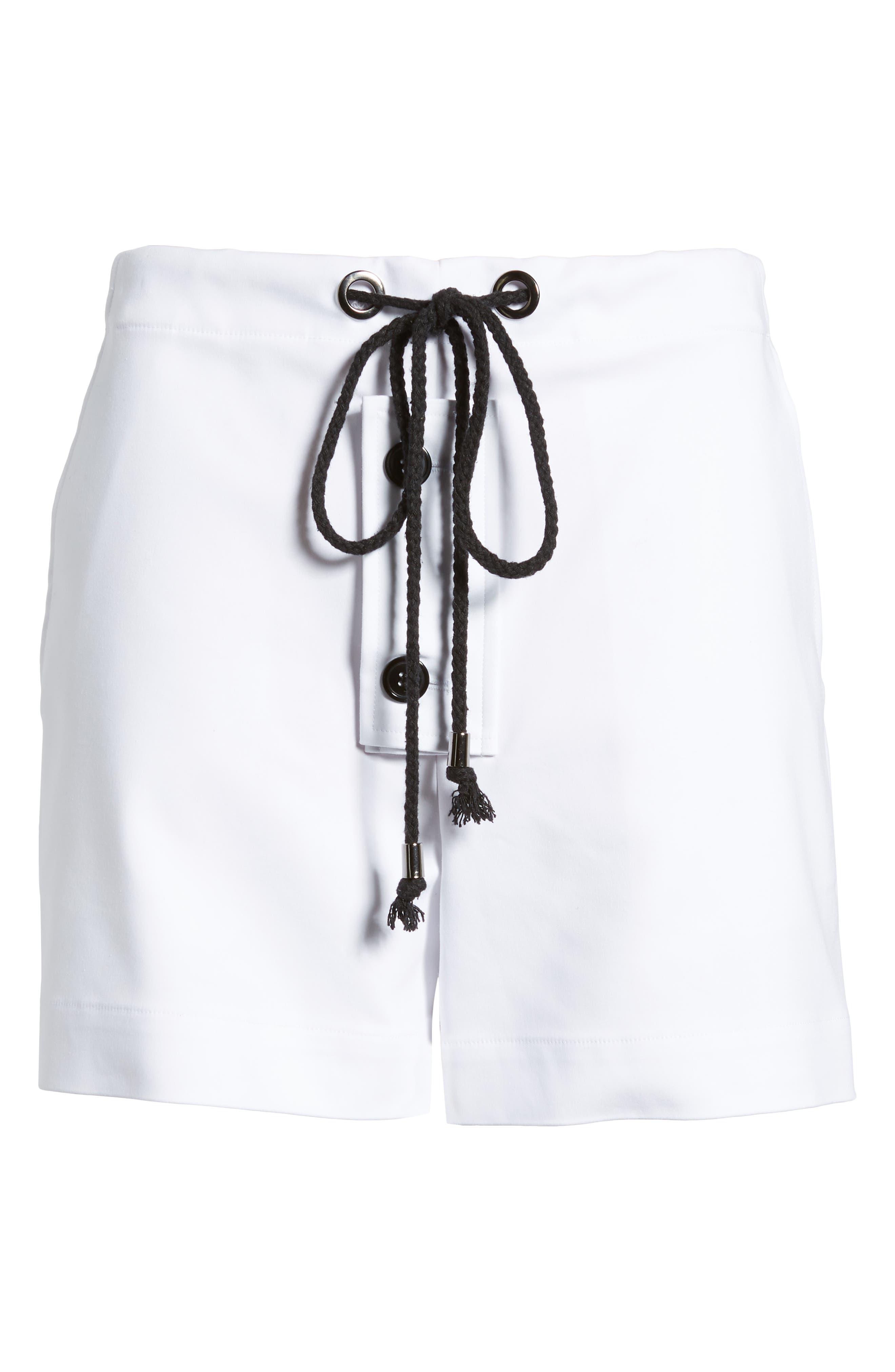Park South Shorts,                             Alternate thumbnail 6, color,                             White