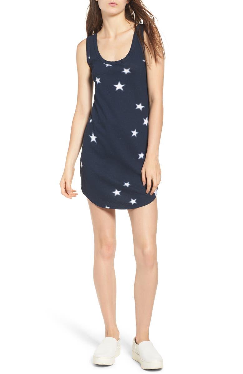 Star Print Tank Dress