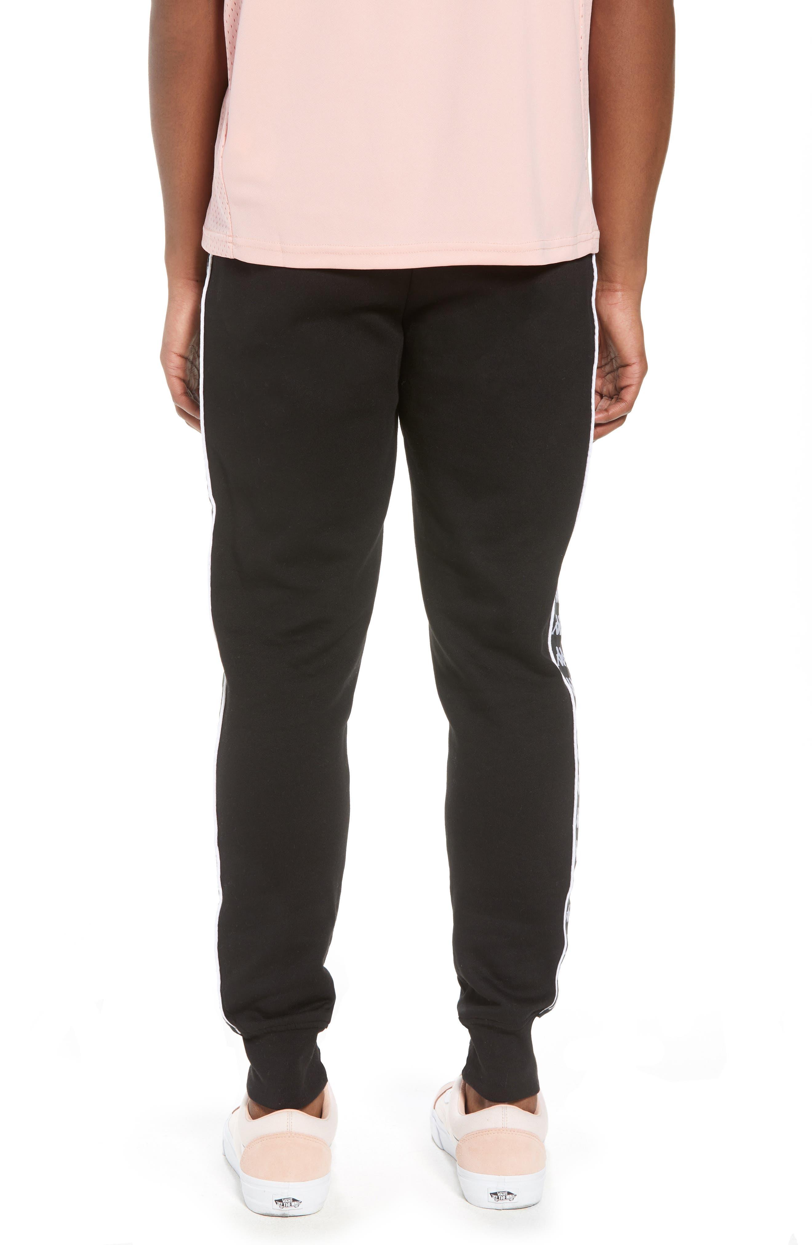Banda Fleece Pants,                             Alternate thumbnail 2, color,                             Black