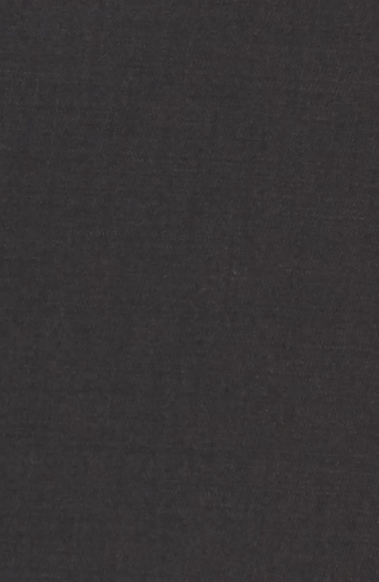 Jay Trim Fit Solid Wool Suit,                             Alternate thumbnail 7, color,                             Black