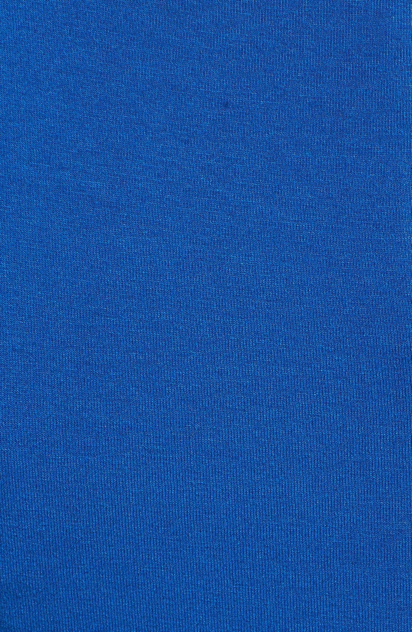 Chiffon Overlay Maxi Dress,                             Alternate thumbnail 6, color,                             Amalfi Blue