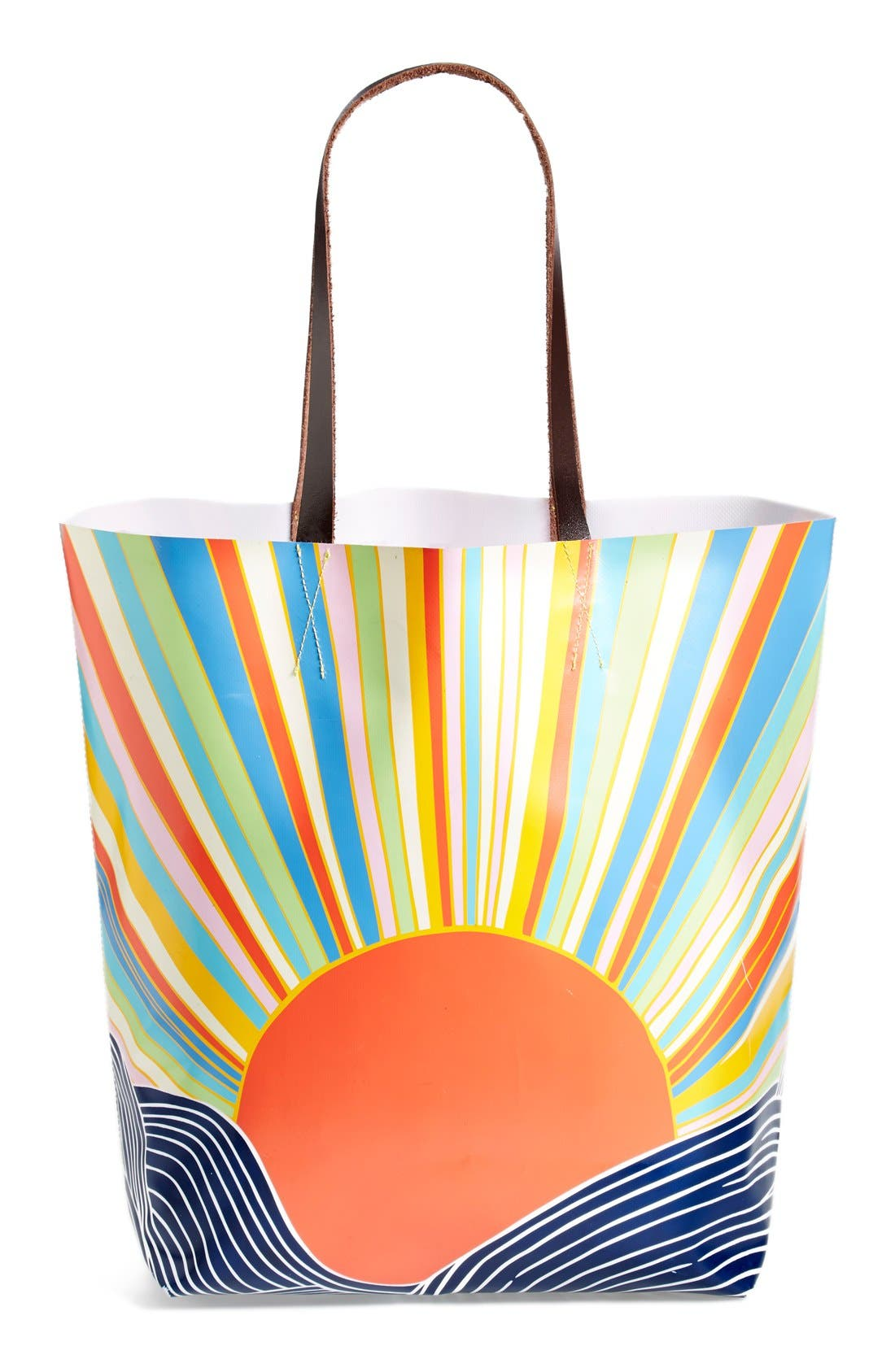 Alternate Image 1 Selected - Mara Hoffman Leather Handle Bag