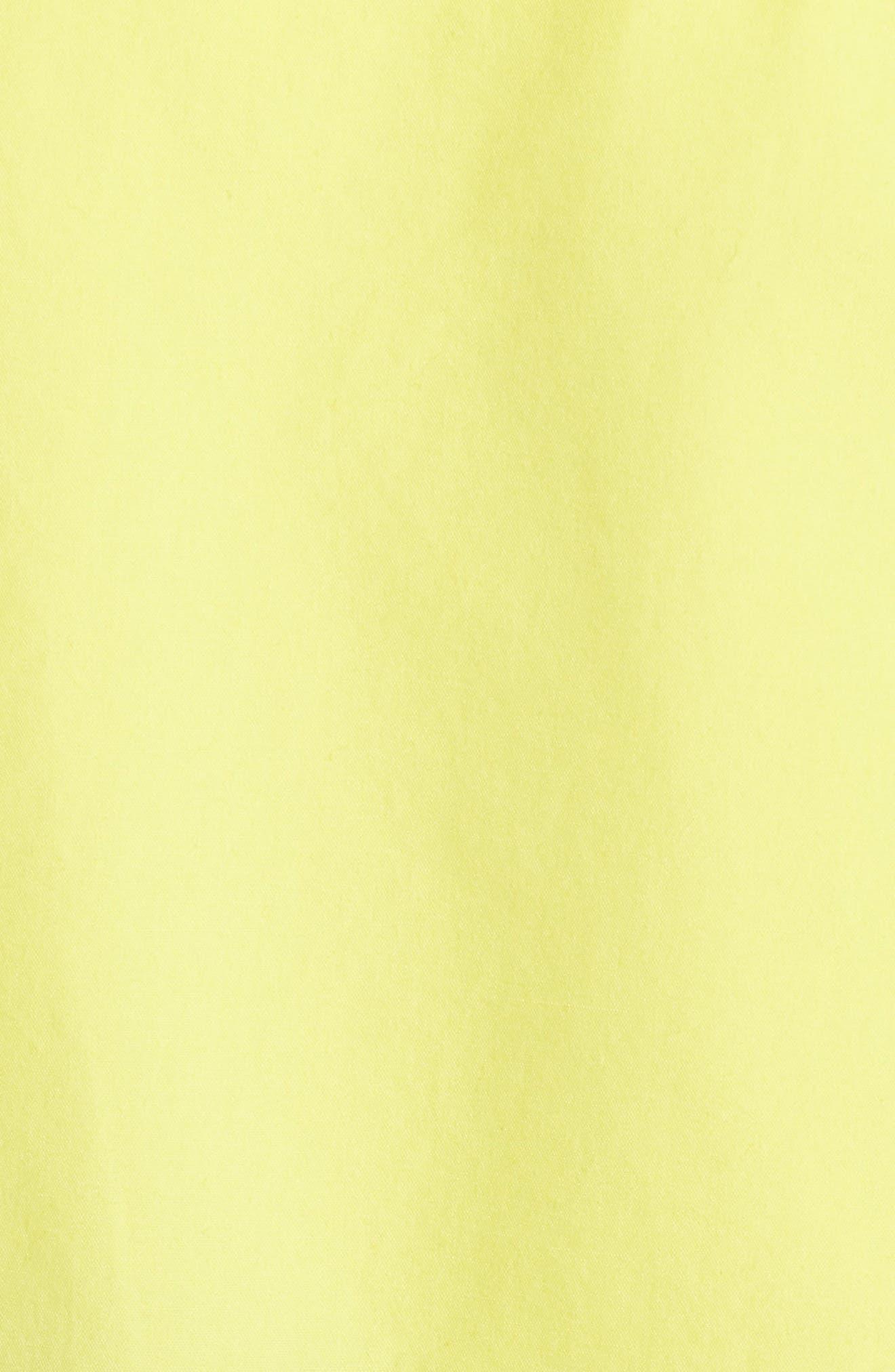 Solas Hooded Anorak,                             Alternate thumbnail 4, color,                             Lemon