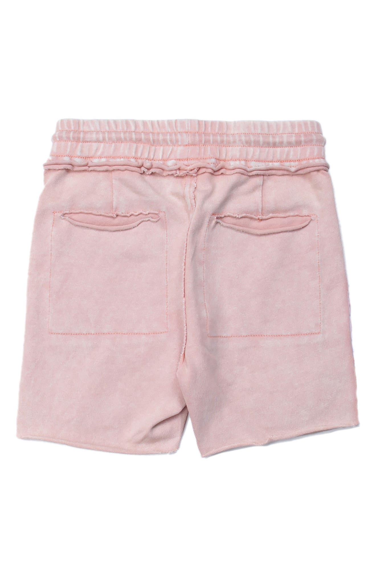 Kirk Distressed Shorts,                             Alternate thumbnail 2, color,                             Pink