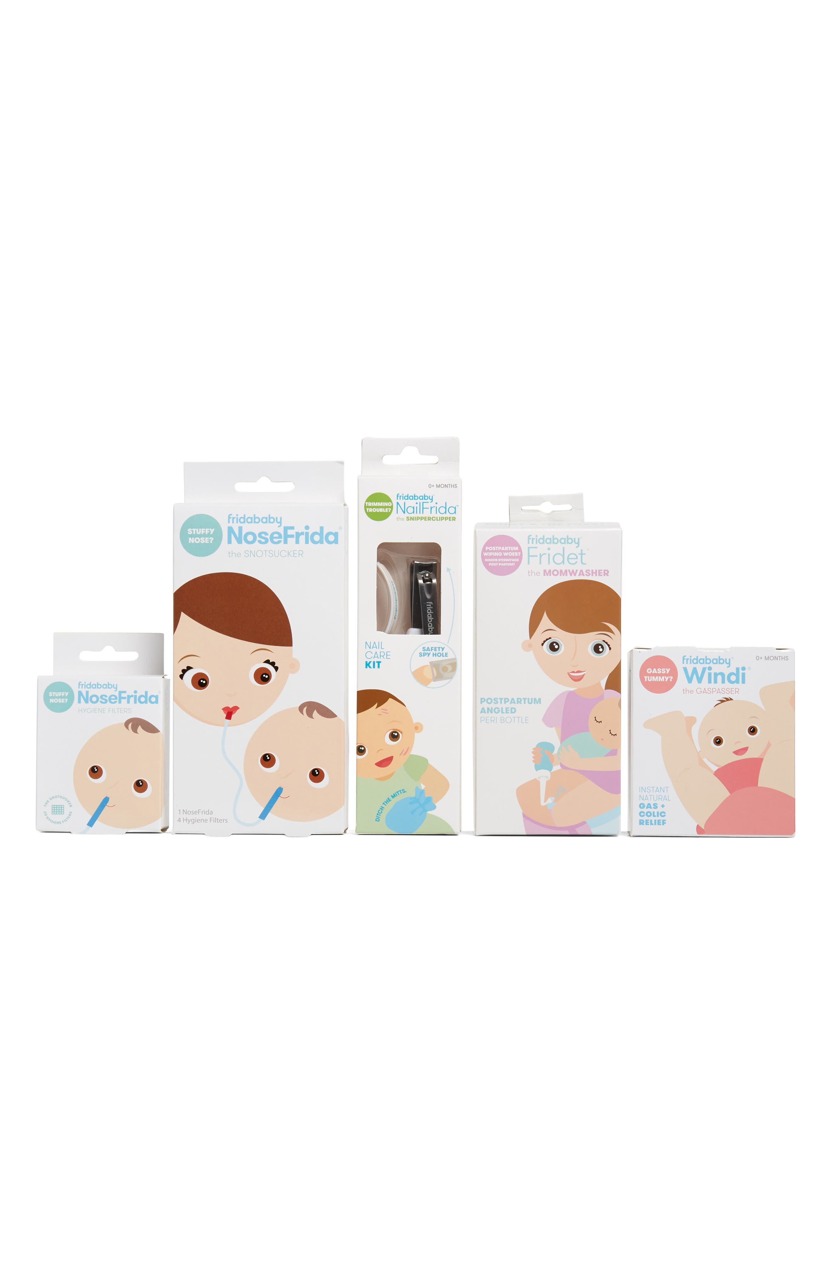 Fridababy The Bitty Bundle Of Joy Newborn Care Kit