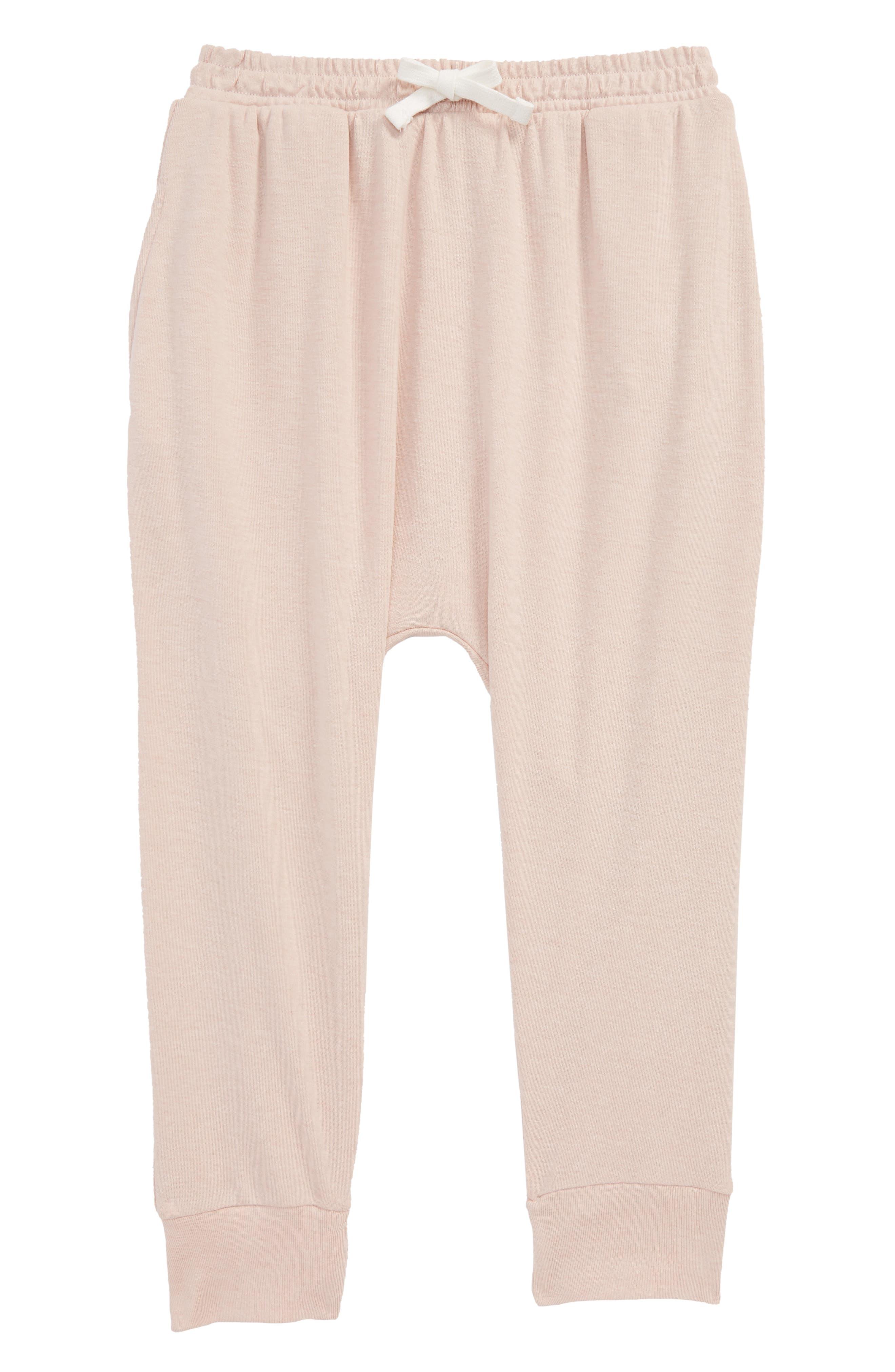 Knit Jogger Pants,                         Main,                         color, Pink Smoke