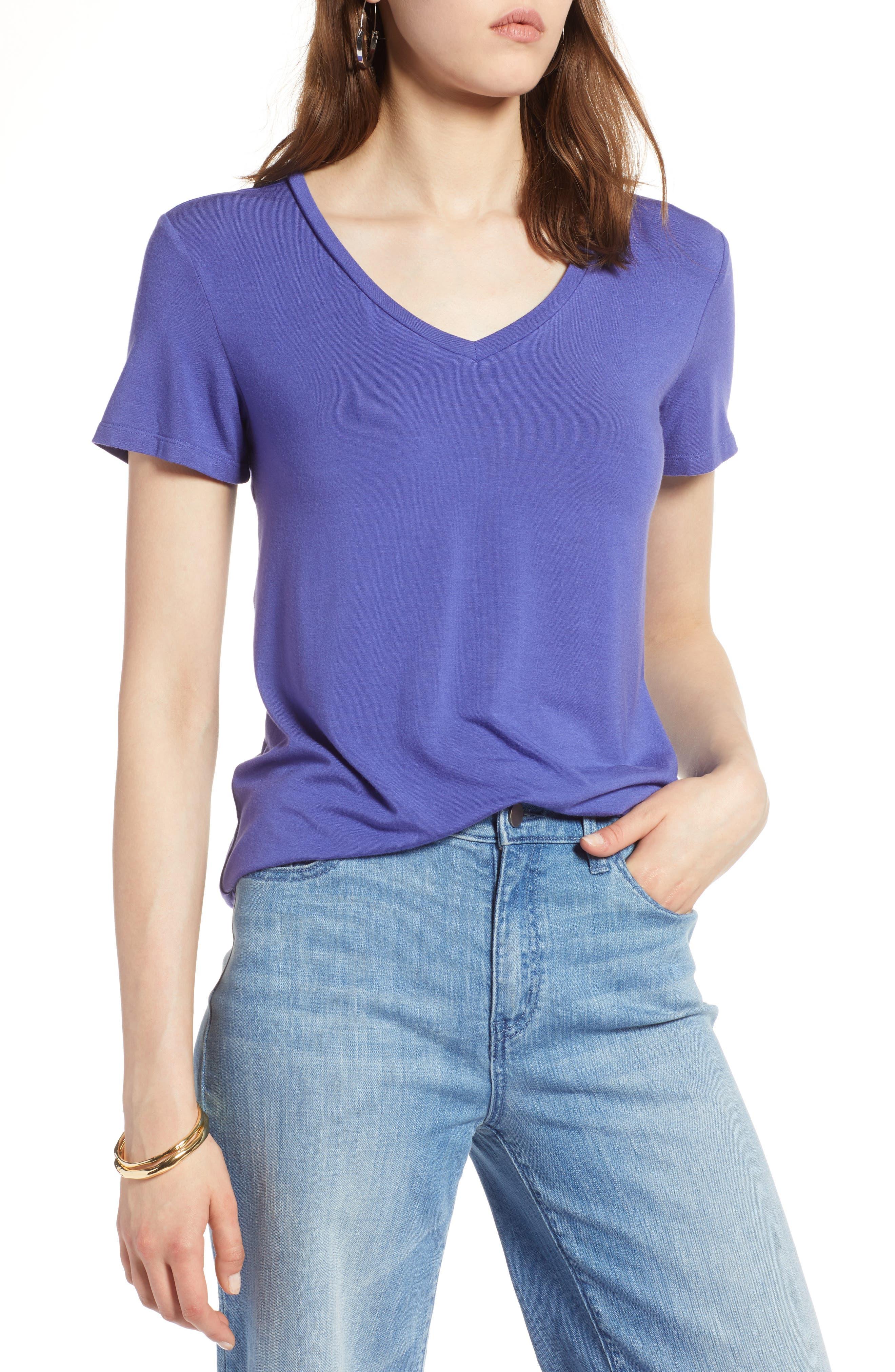 Betty Co Women's 3/4 Sleeve T-Shirt Blau (Lilac 8005) Cost Clearance Order Cheap Sale Top Quality Original Classic 00prW0L